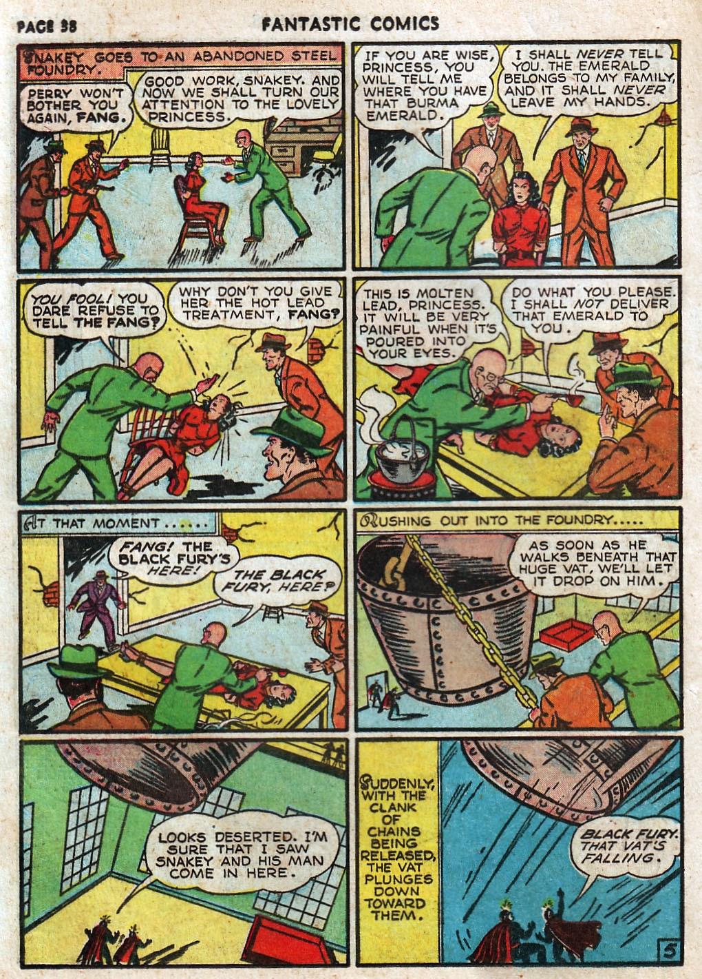 Read online Fantastic Comics comic -  Issue #17 - 39