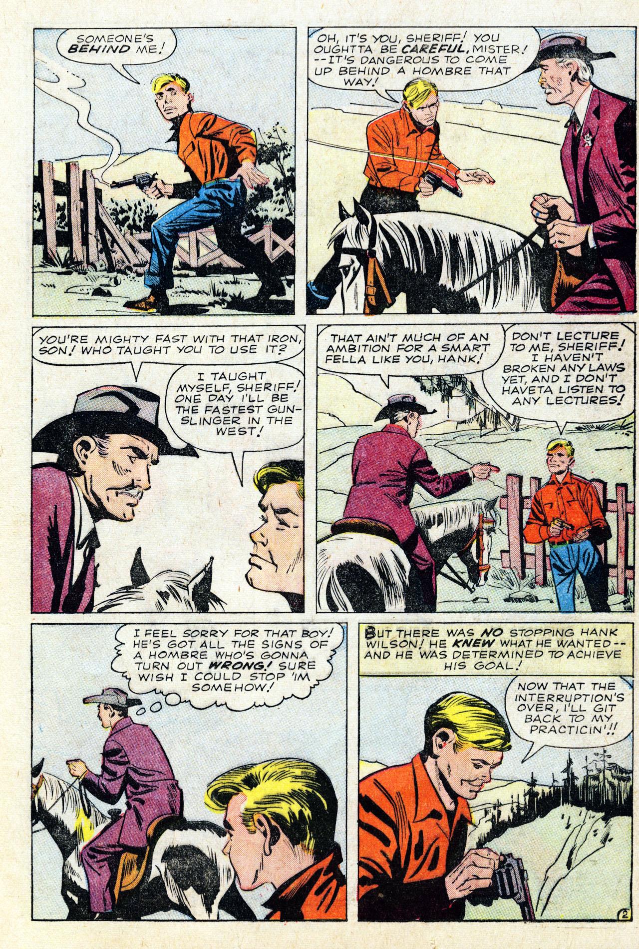 Read online Two-Gun Kid comic -  Issue #64 - 21