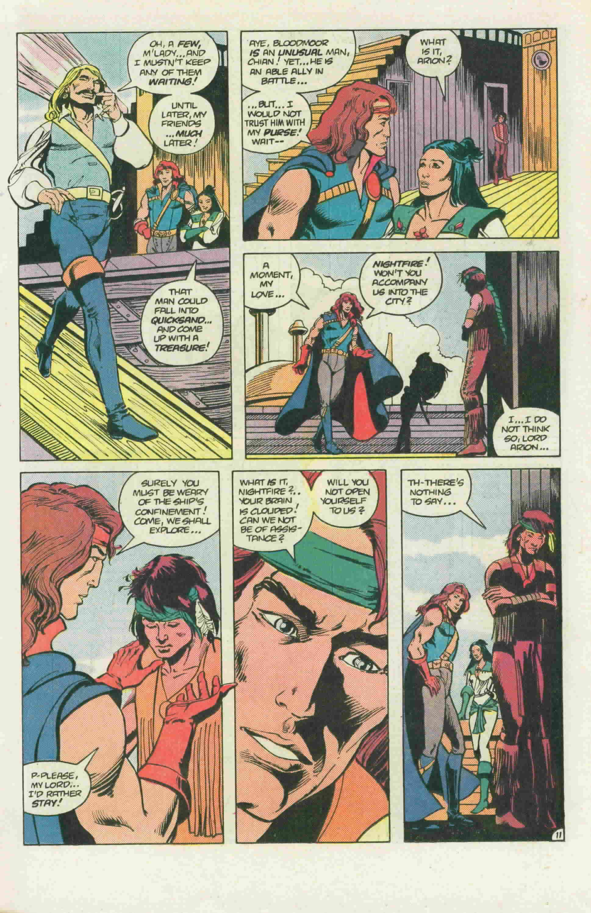 Read online Arion, Lord of Atlantis comic -  Issue #22 - 16