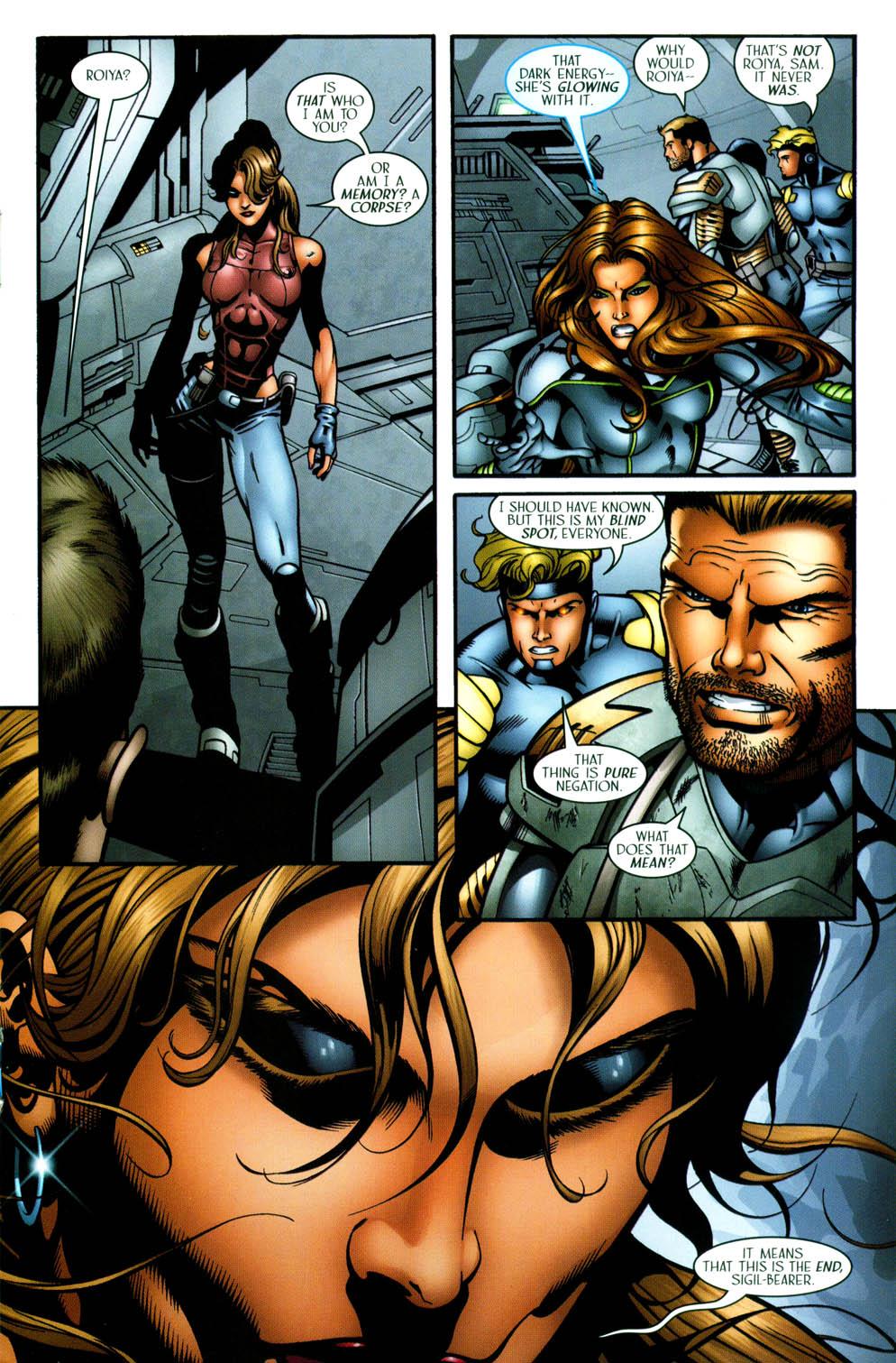 Read online Sigil (2000) comic -  Issue #36 - 19