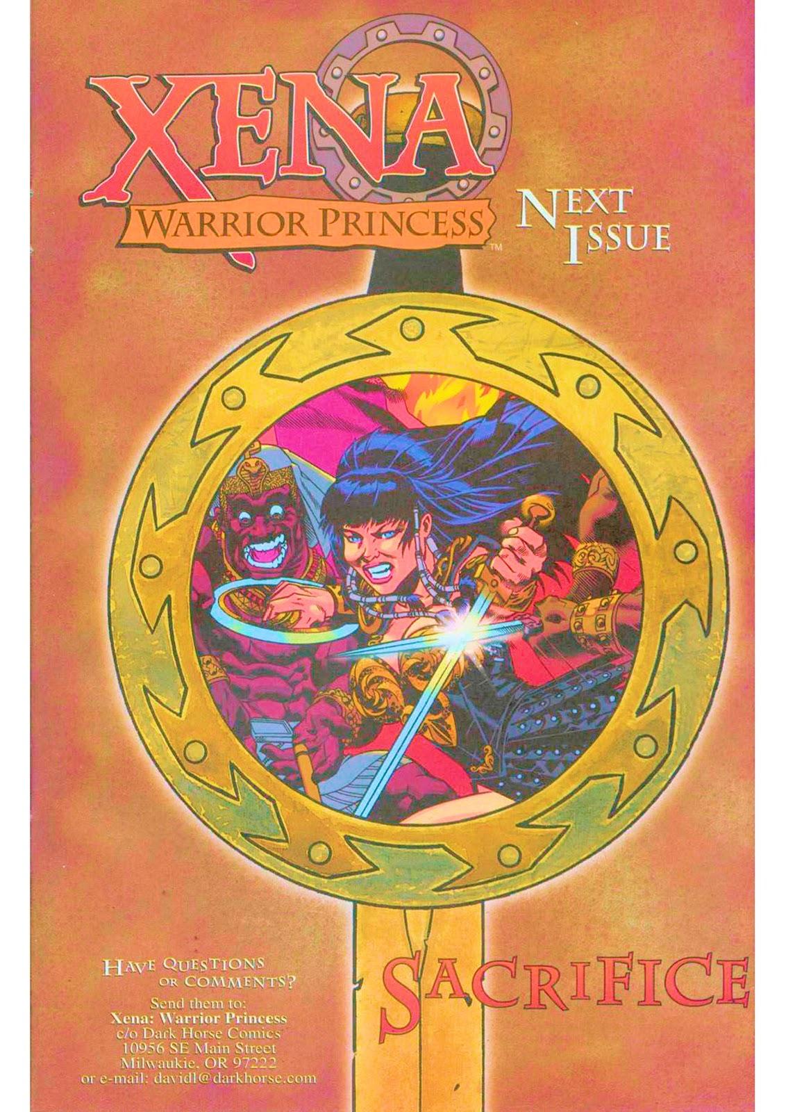 Xena: Warrior Princess (1999) Issue #5 #5 - English 27