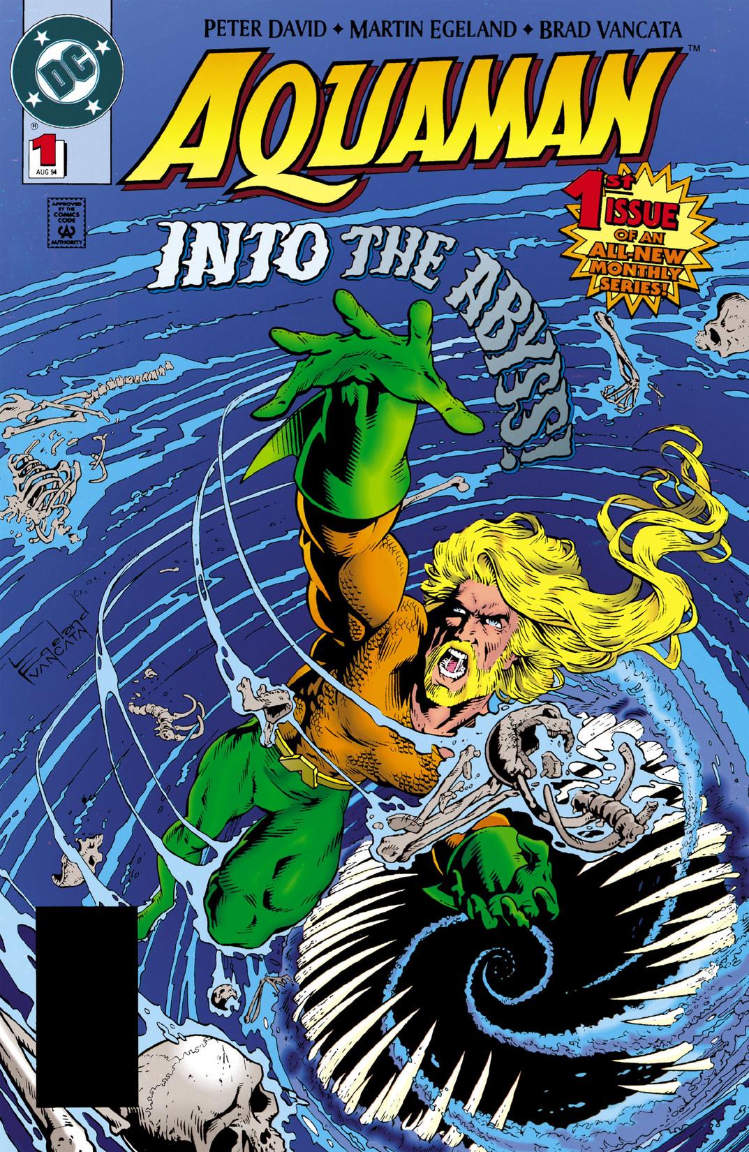 Read online Aquaman (1994) comic -  Issue #1 - 1