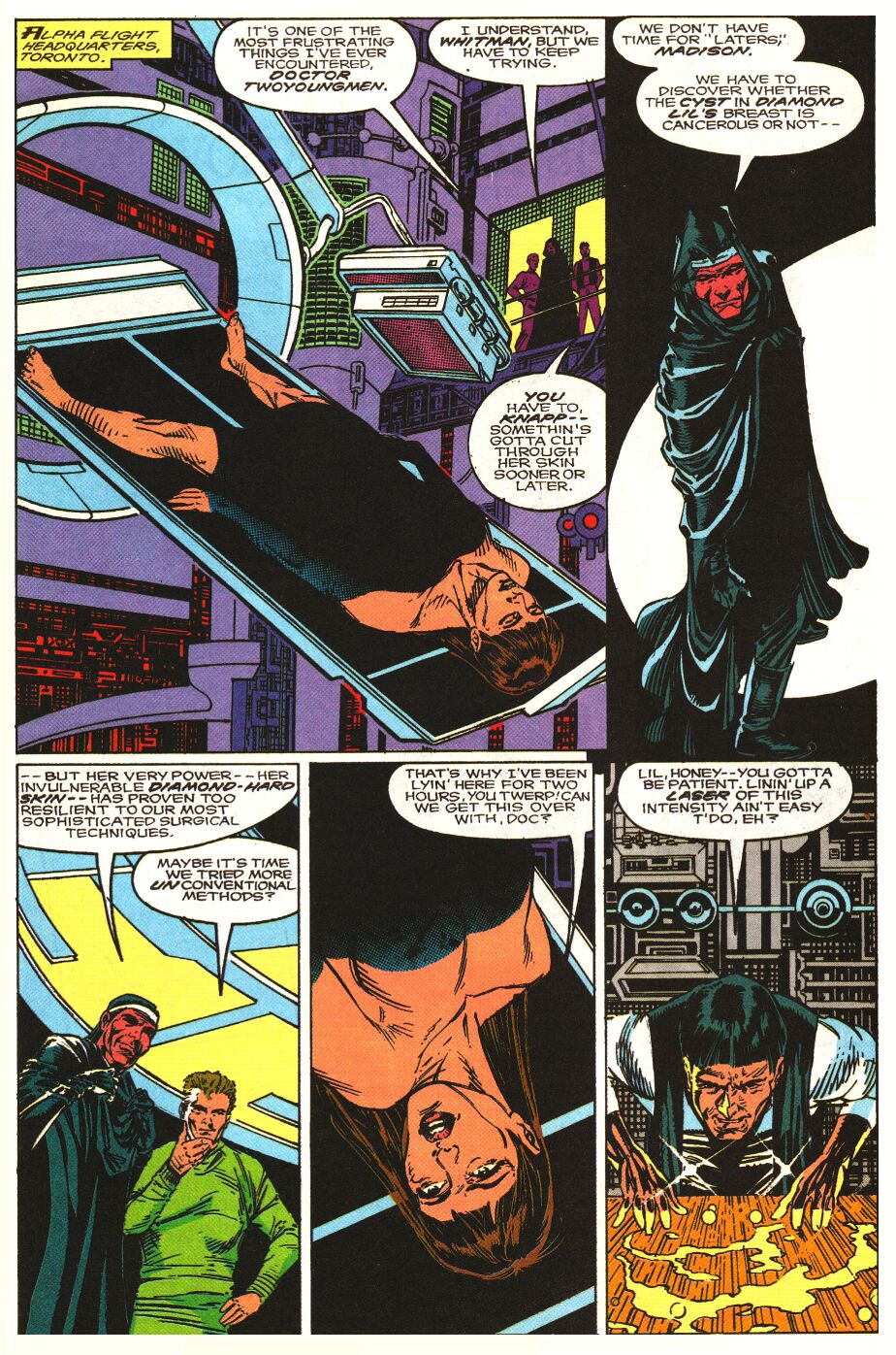 Read online Alpha Flight Special comic -  Issue #1 - 8