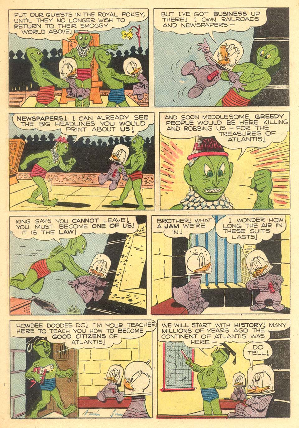 Read online Uncle Scrooge (1953) comic -  Issue #5 - 23