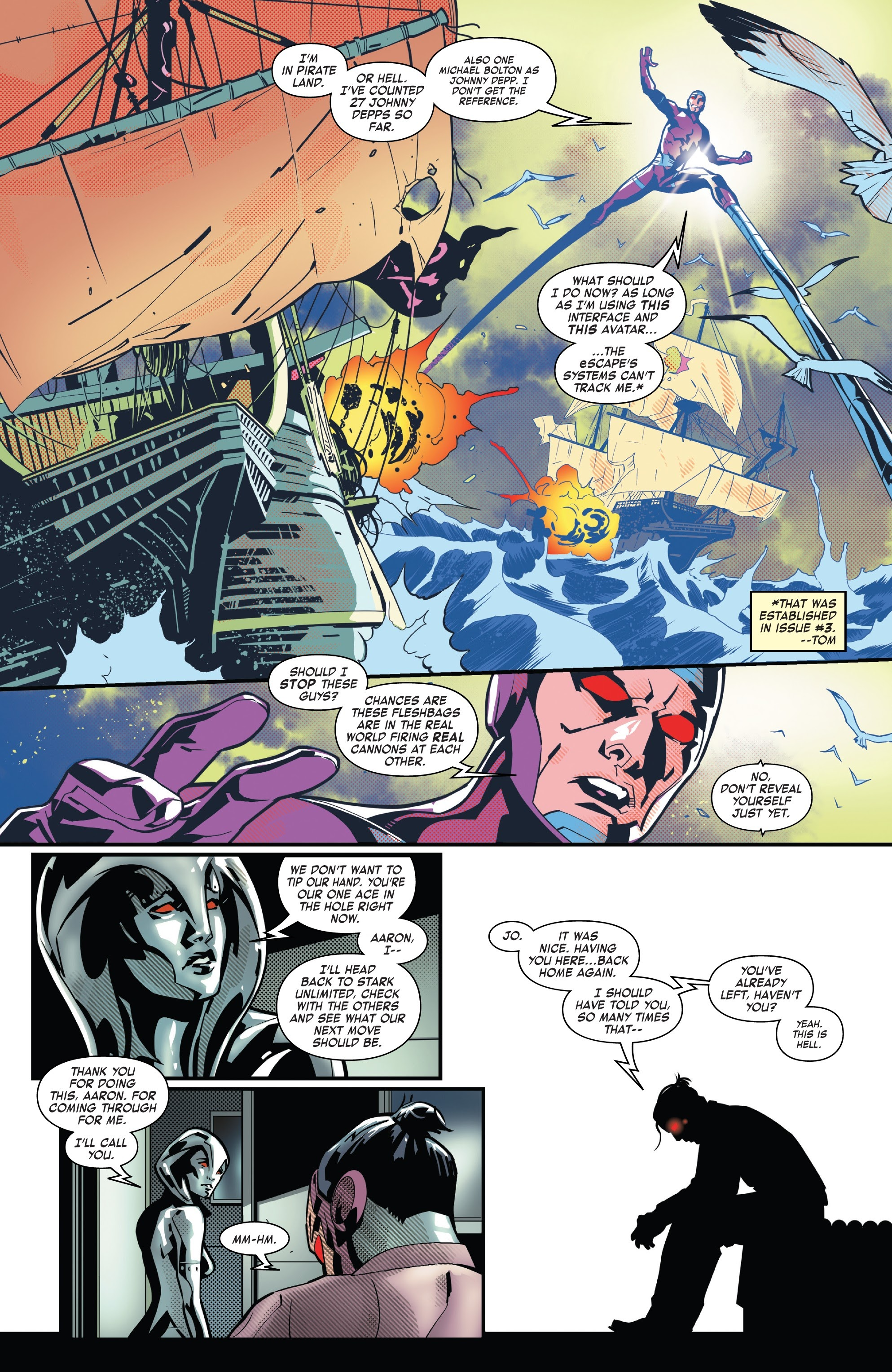 Read online Tony Stark: Iron Man comic -  Issue #8 - 19