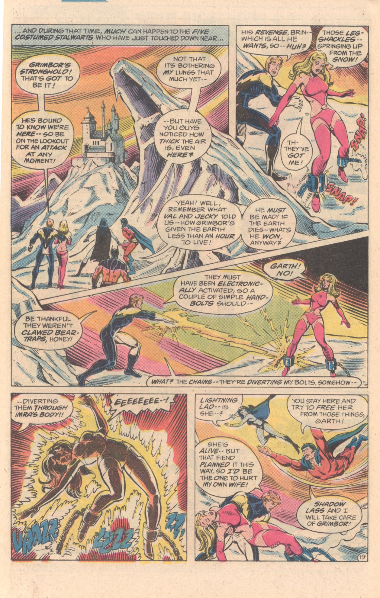 Legion of Super-Heroes (1980) 278 Page 19