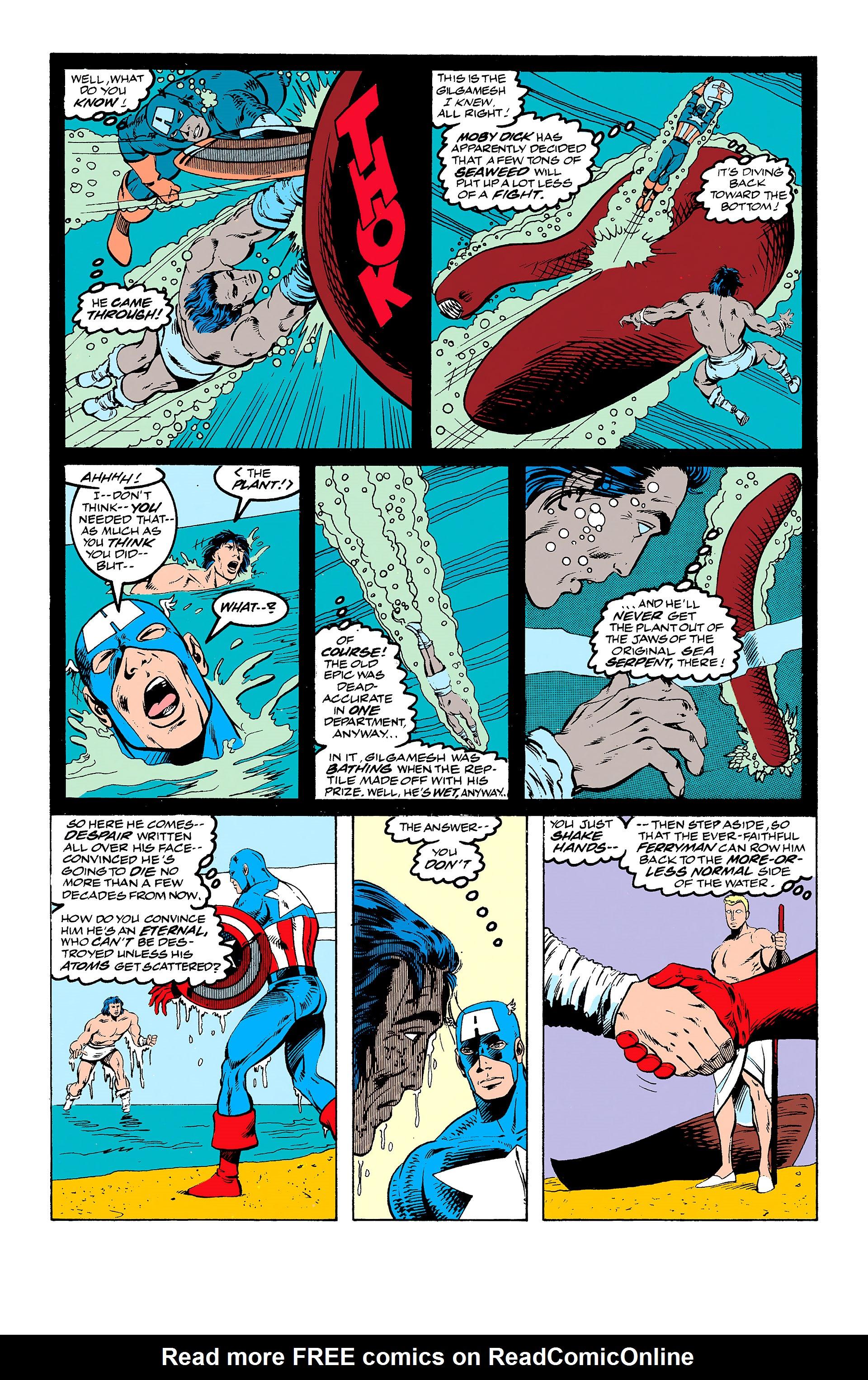 Read online Captain America (1968) comic -  Issue # _Annual 11 - 24