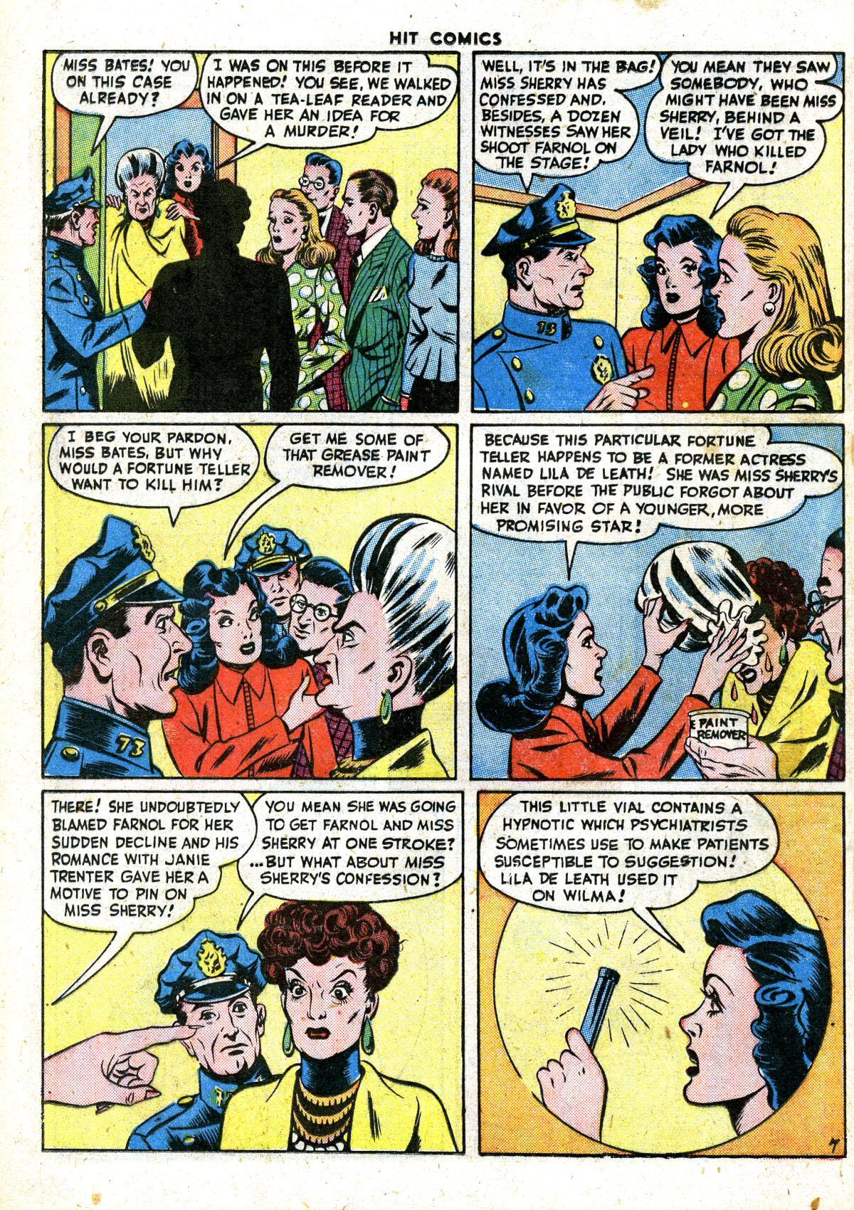 Read online Hit Comics comic -  Issue #41 - 36
