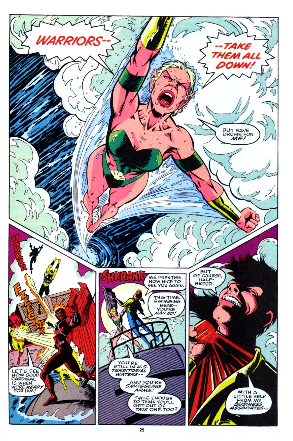 The New Warriors Issue #28 #32 - English 19