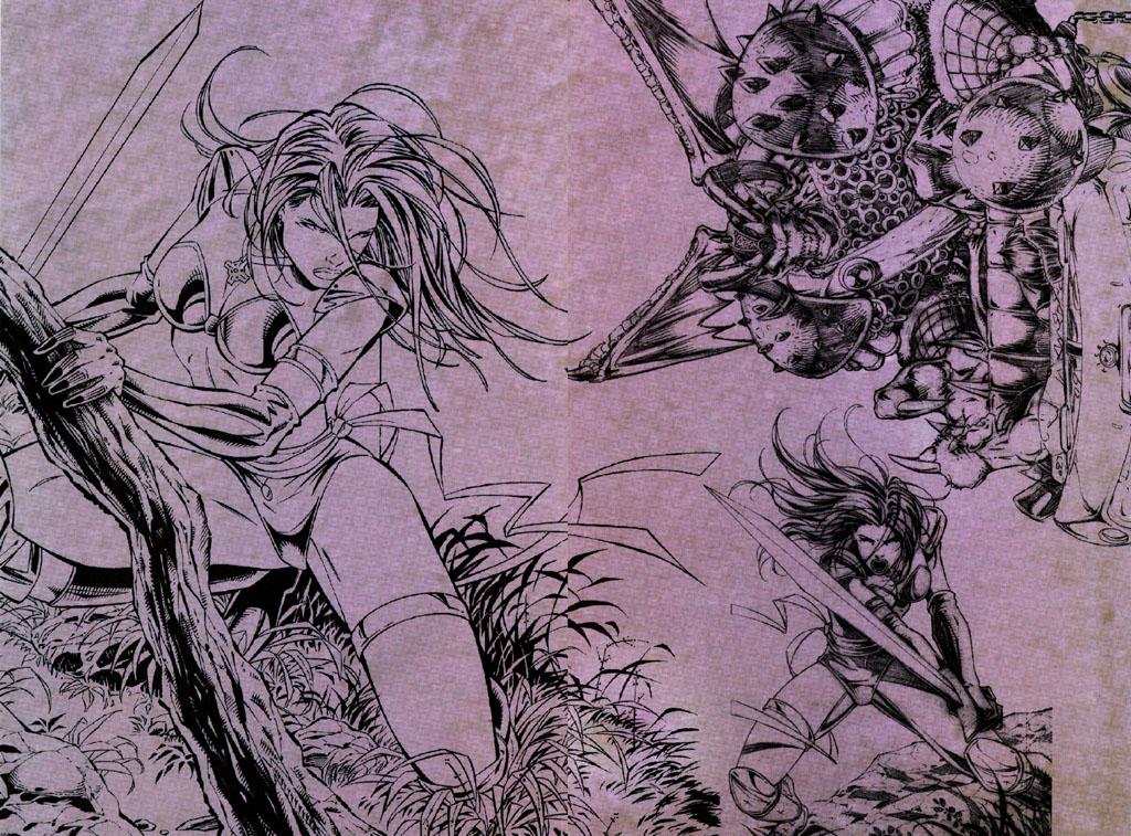 Read online Avengelyne (1996) comic -  Issue #7 - 20