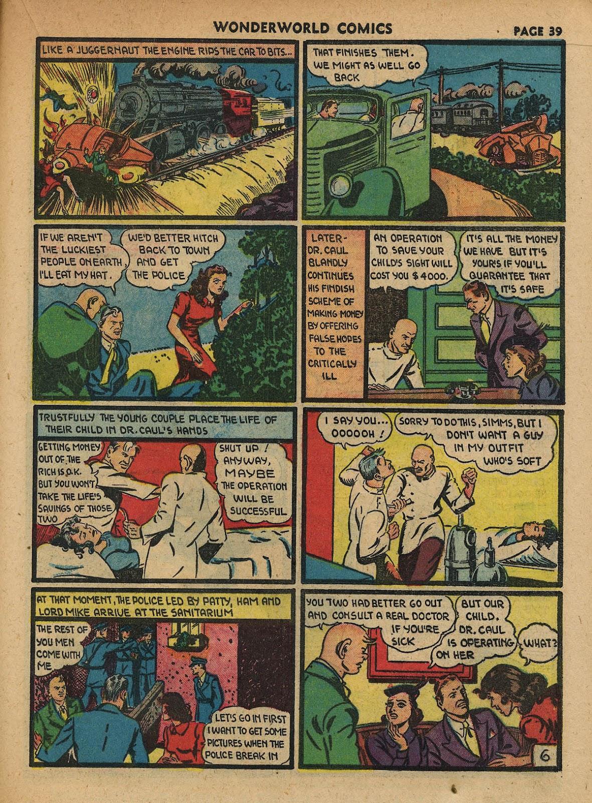 Wonderworld Comics issue 23 - Page 40