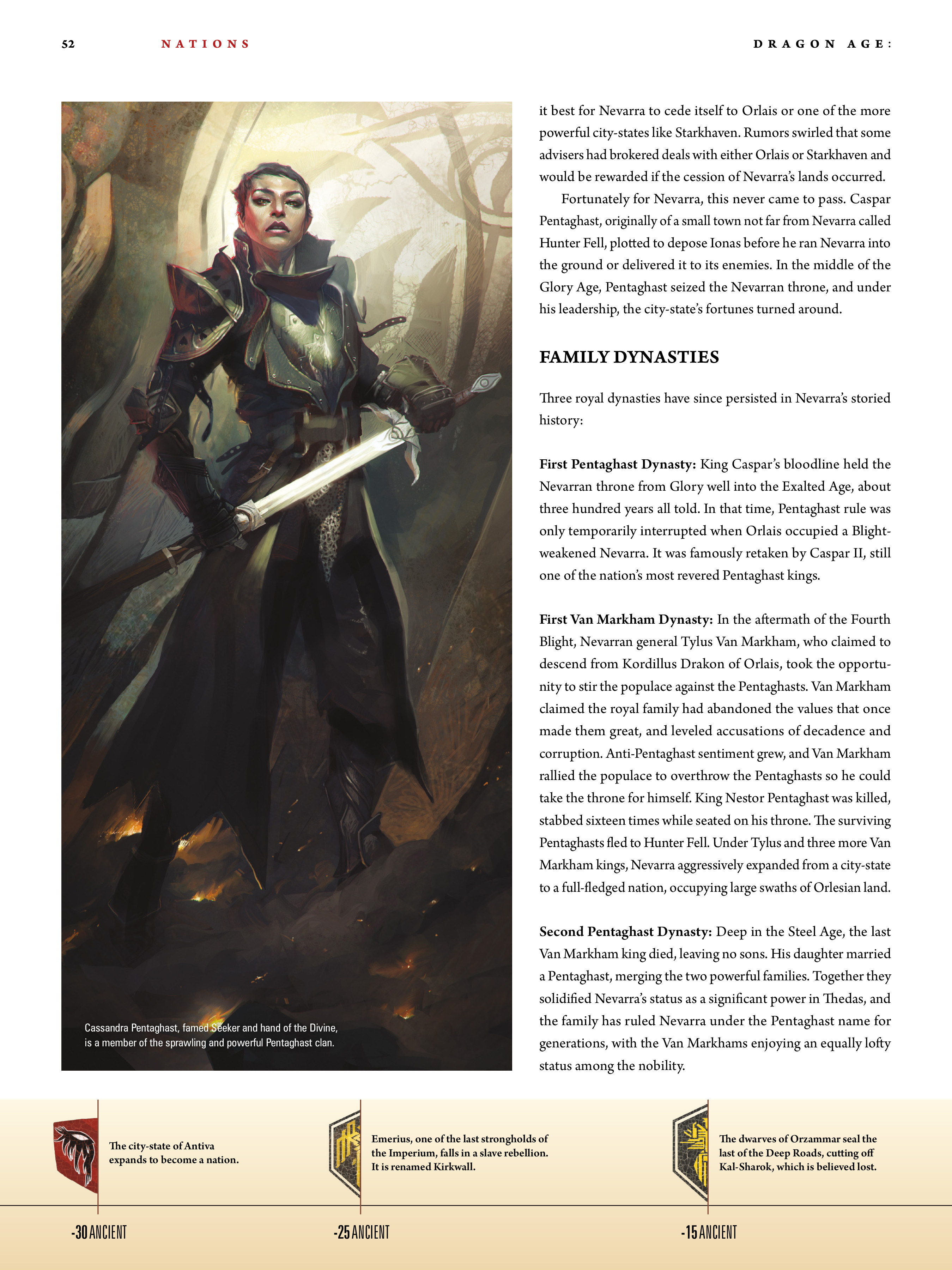 Read online Dragon Age: The World of Thedas comic -  Issue # TPB 1 - 42