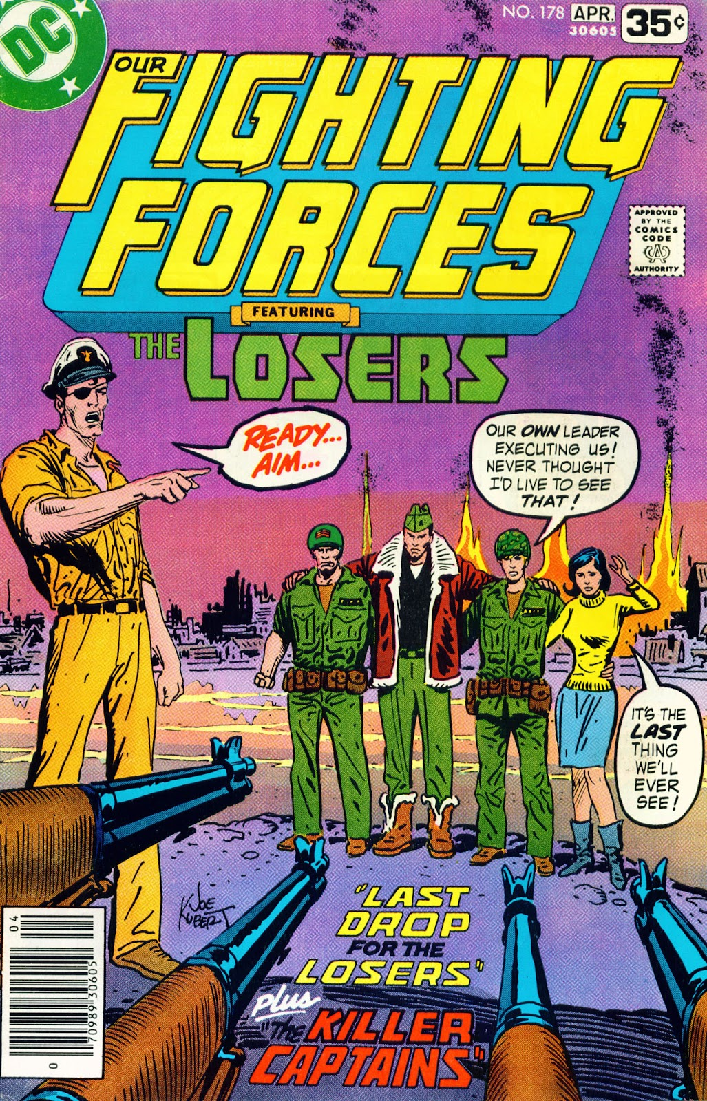 Our Fighting Forces (1954) issue 178 - Page 1