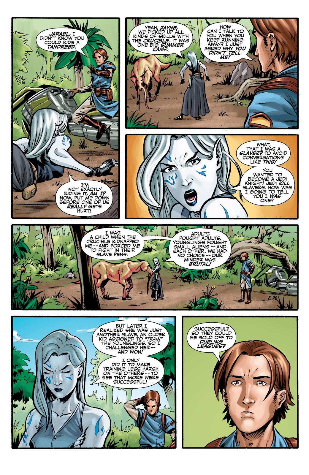 Read online Star Wars Legends: The Old Republic - Epic Collection comic -  Issue # TPB 3 (Part 2) - 2