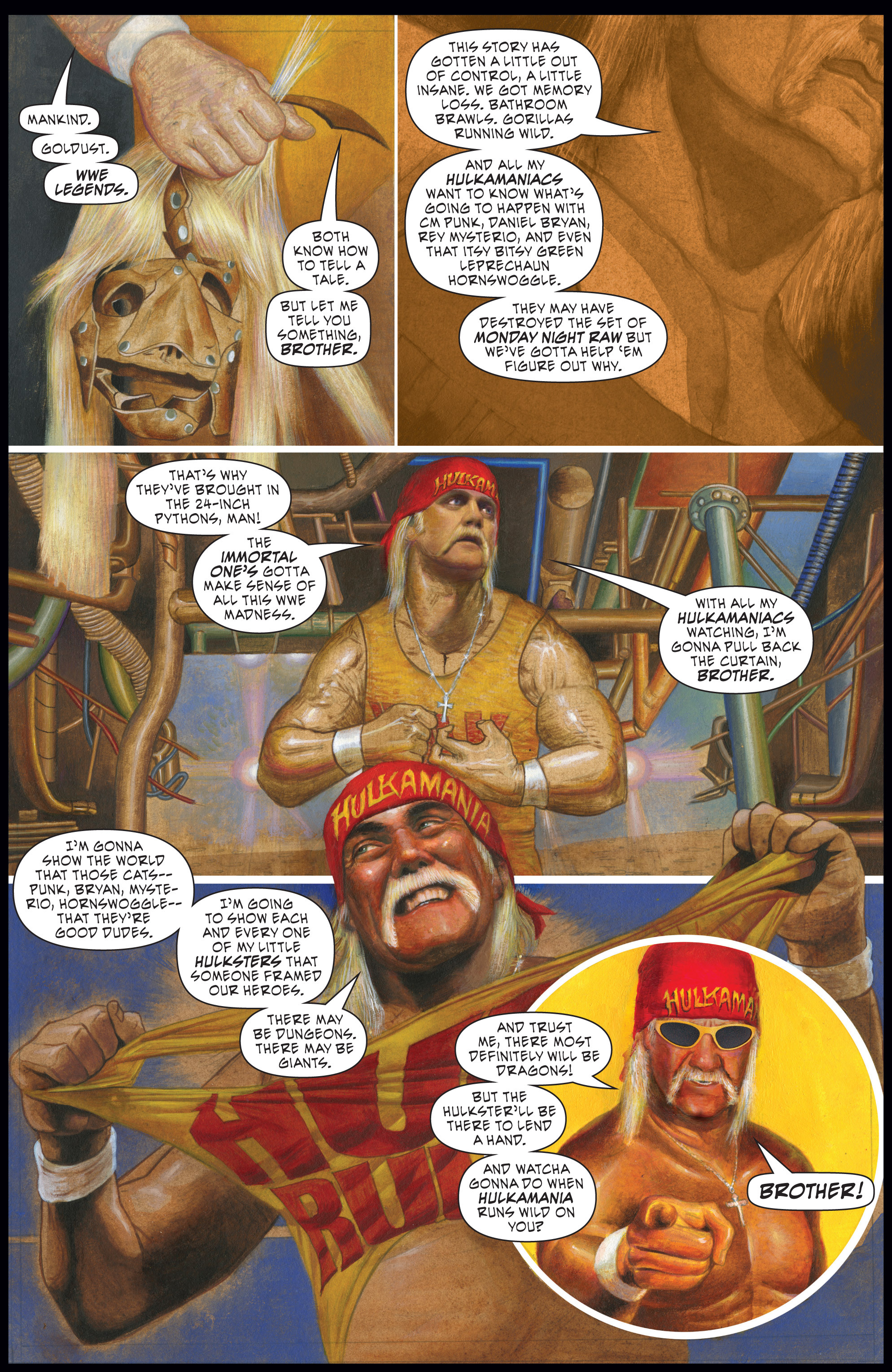 Read online WWE Superstars comic -  Issue #7 - 3