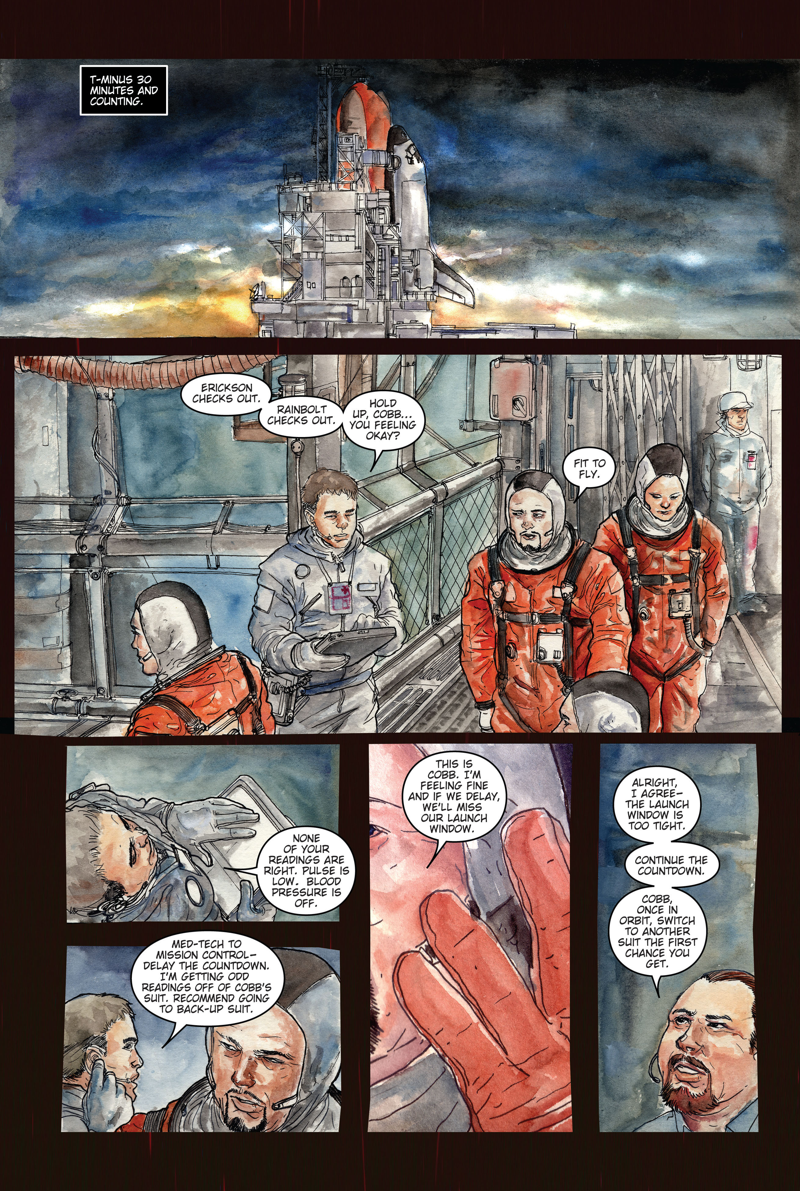 30 Days of Night: Dead Space 1 Page 10