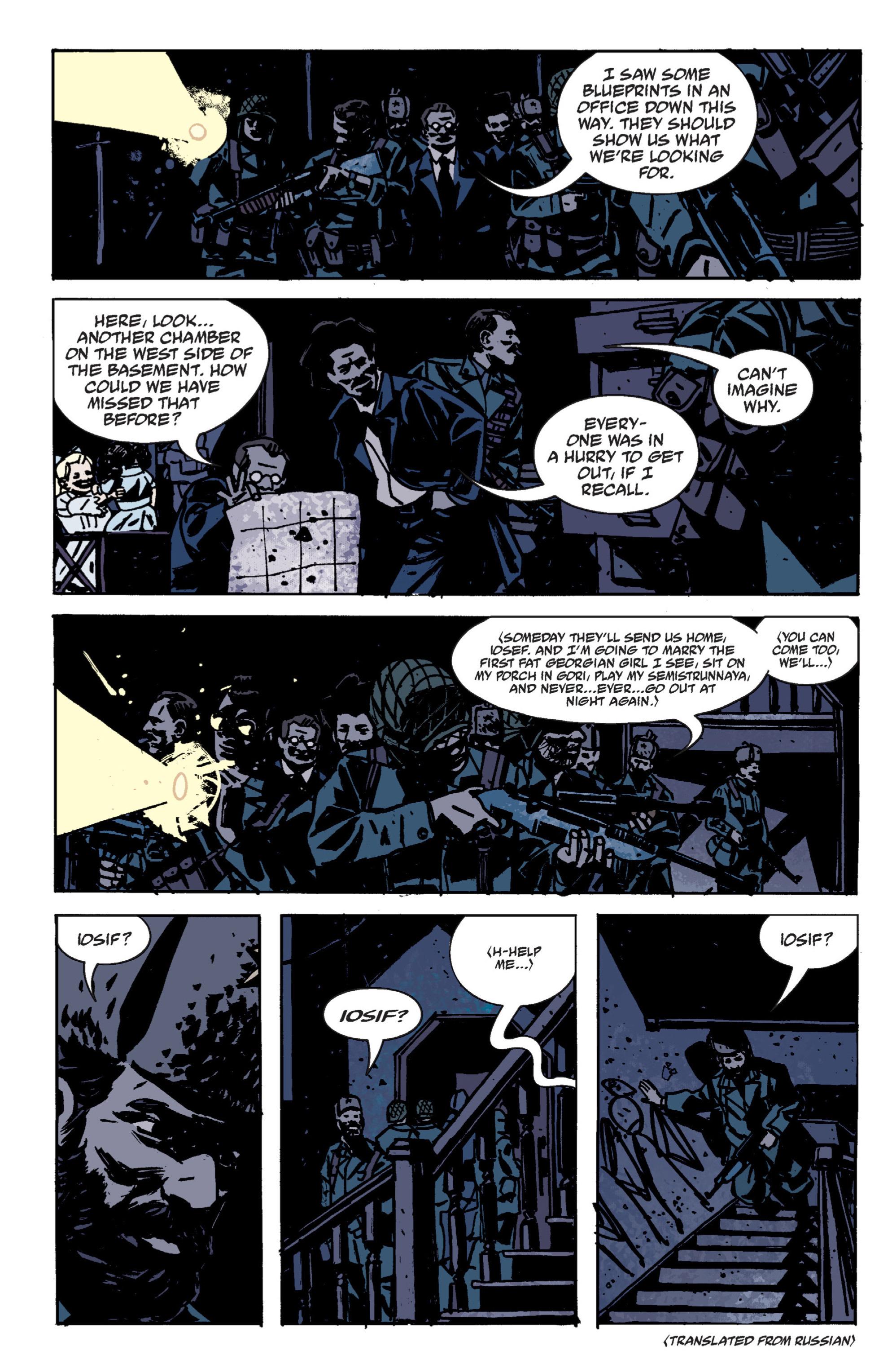 Read online B.P.R.D. (2003) comic -  Issue # TPB 9 - 62