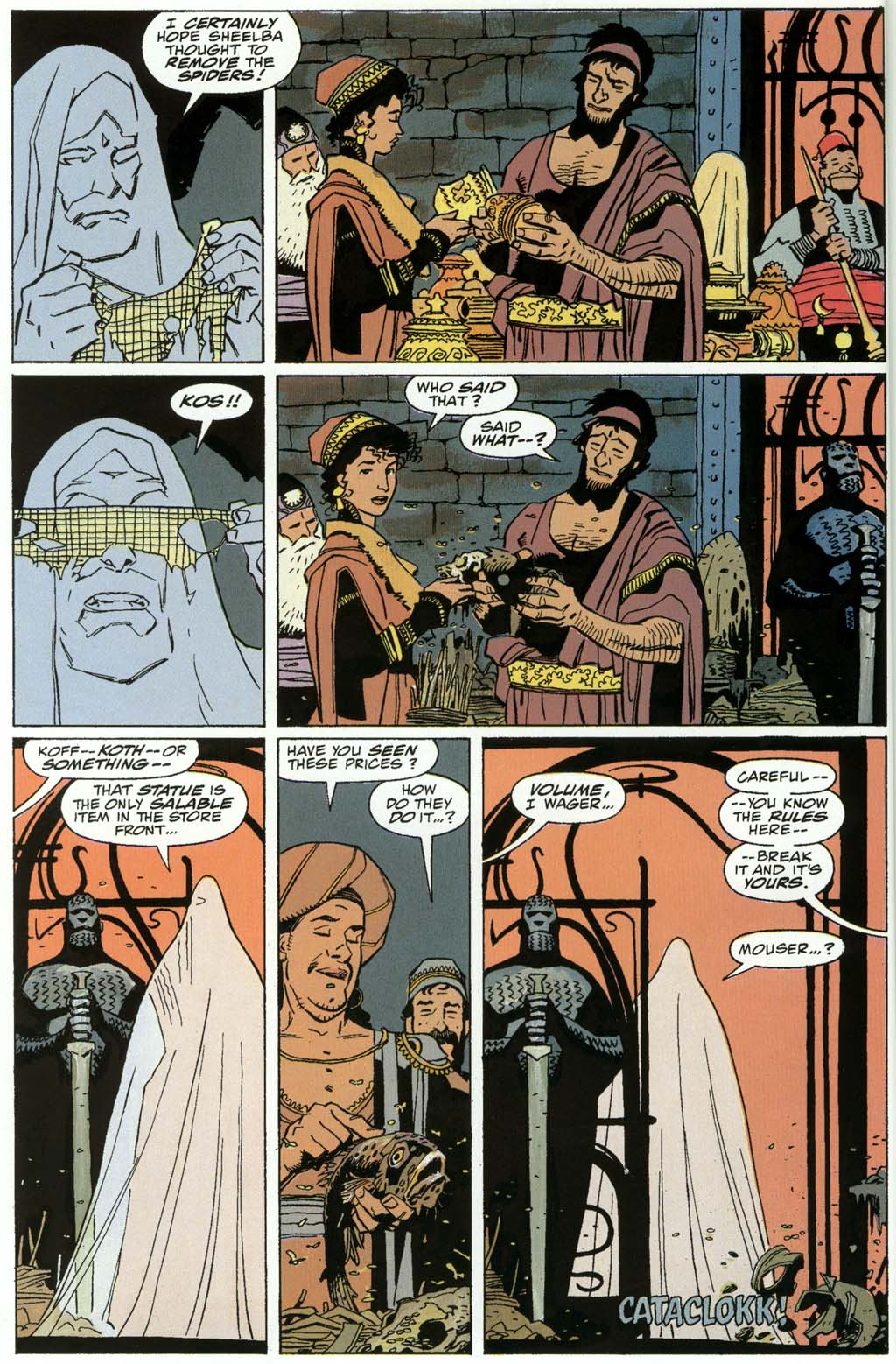 Read online Fafhrd and the Gray Mouser comic -  Issue #3 - 42