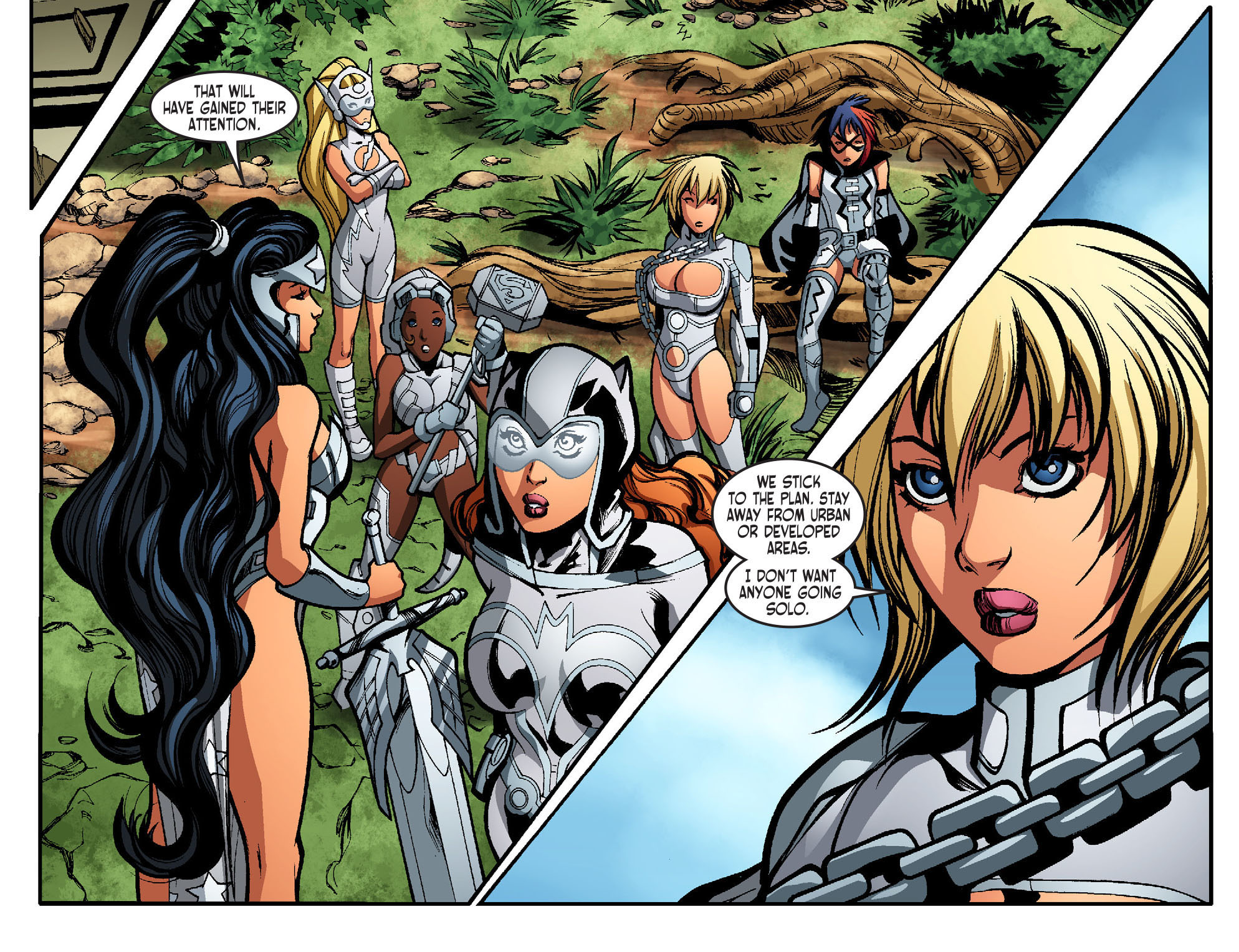 Read online Ame-Comi Girls comic -  Issue #17 - 8