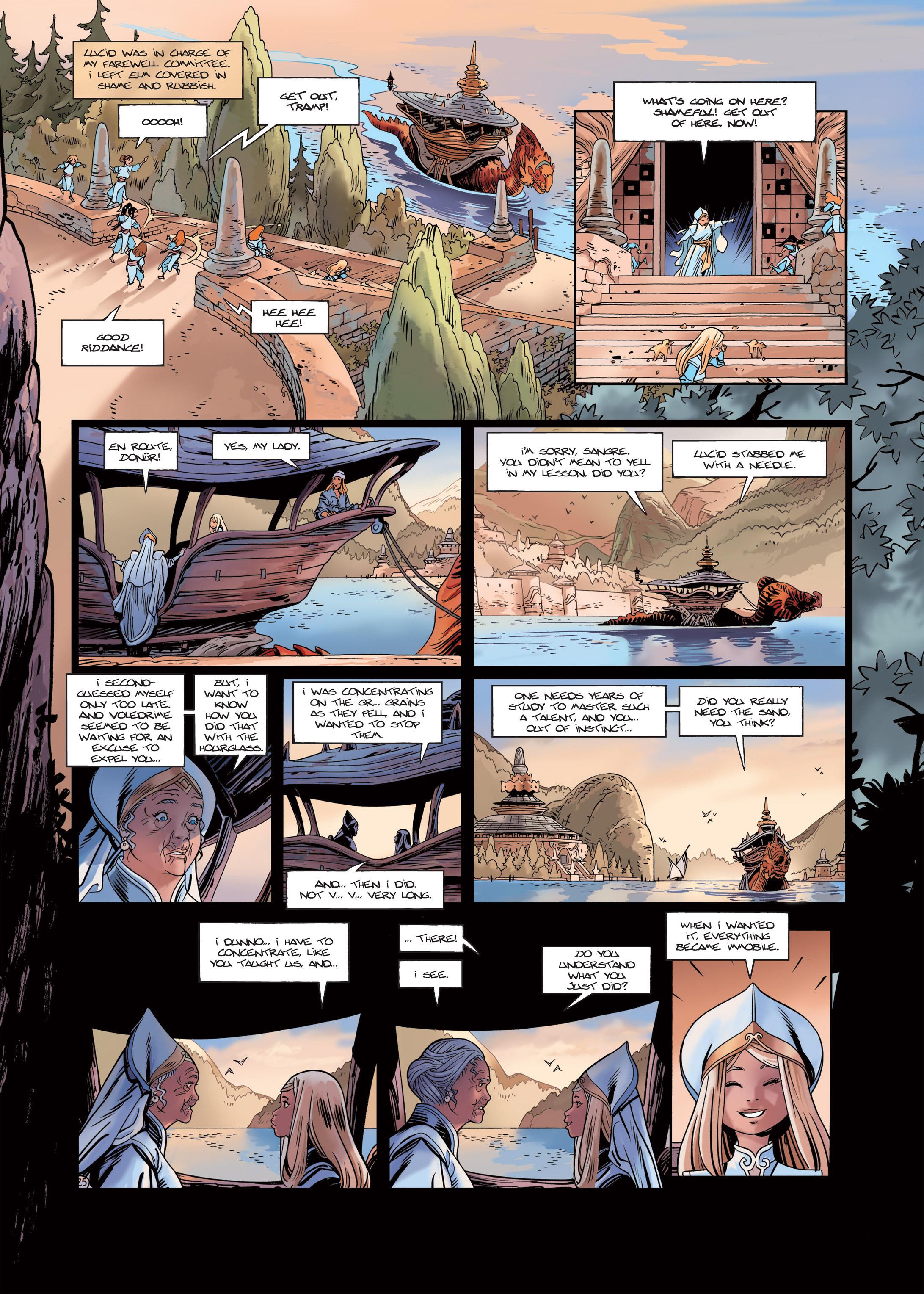 Read online Sangre Vol. 1: Sangre the Survivor comic -  Issue # Full - 27