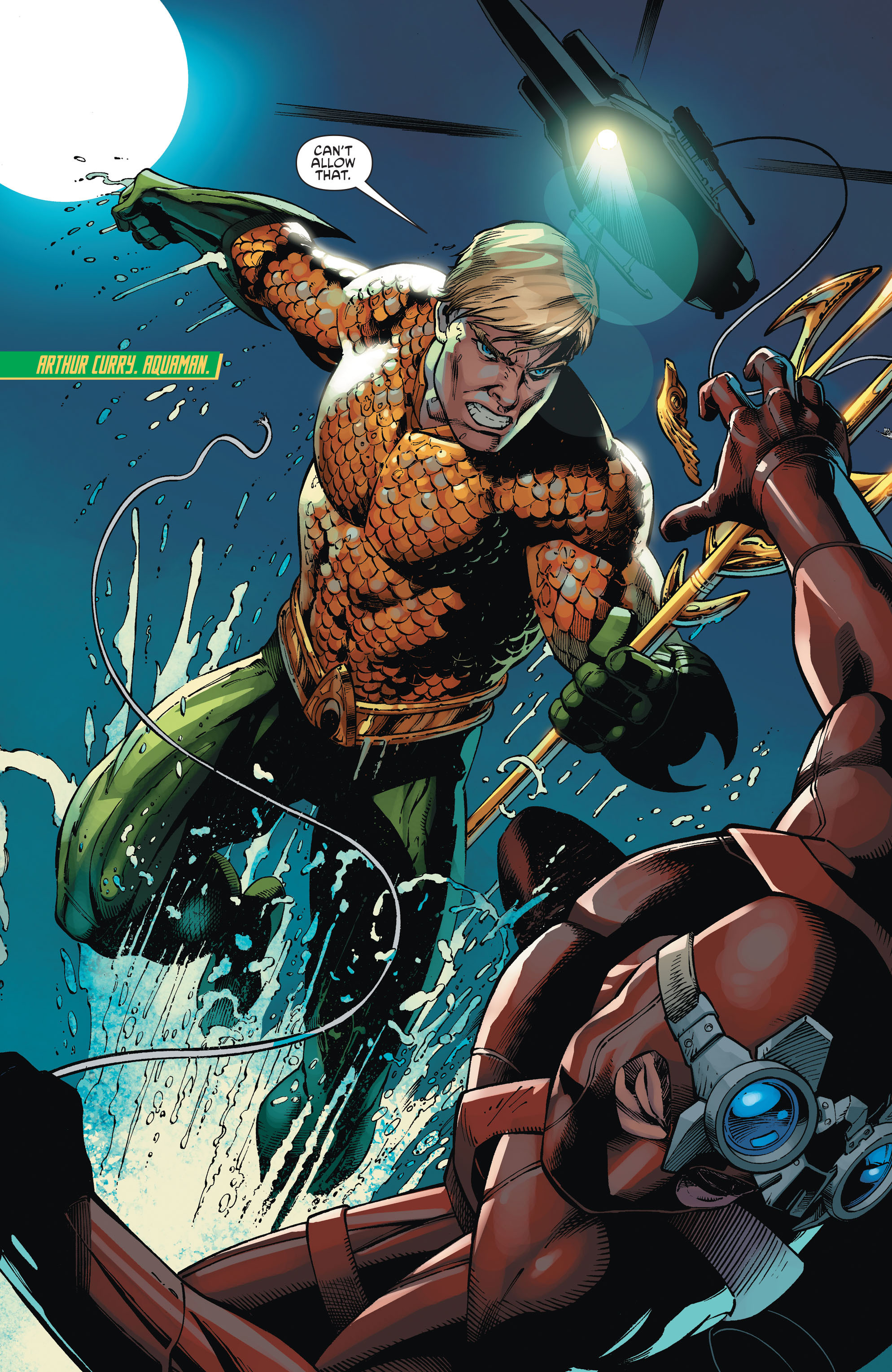 Read online Aquaman and the Others comic -  Issue #1 - 15
