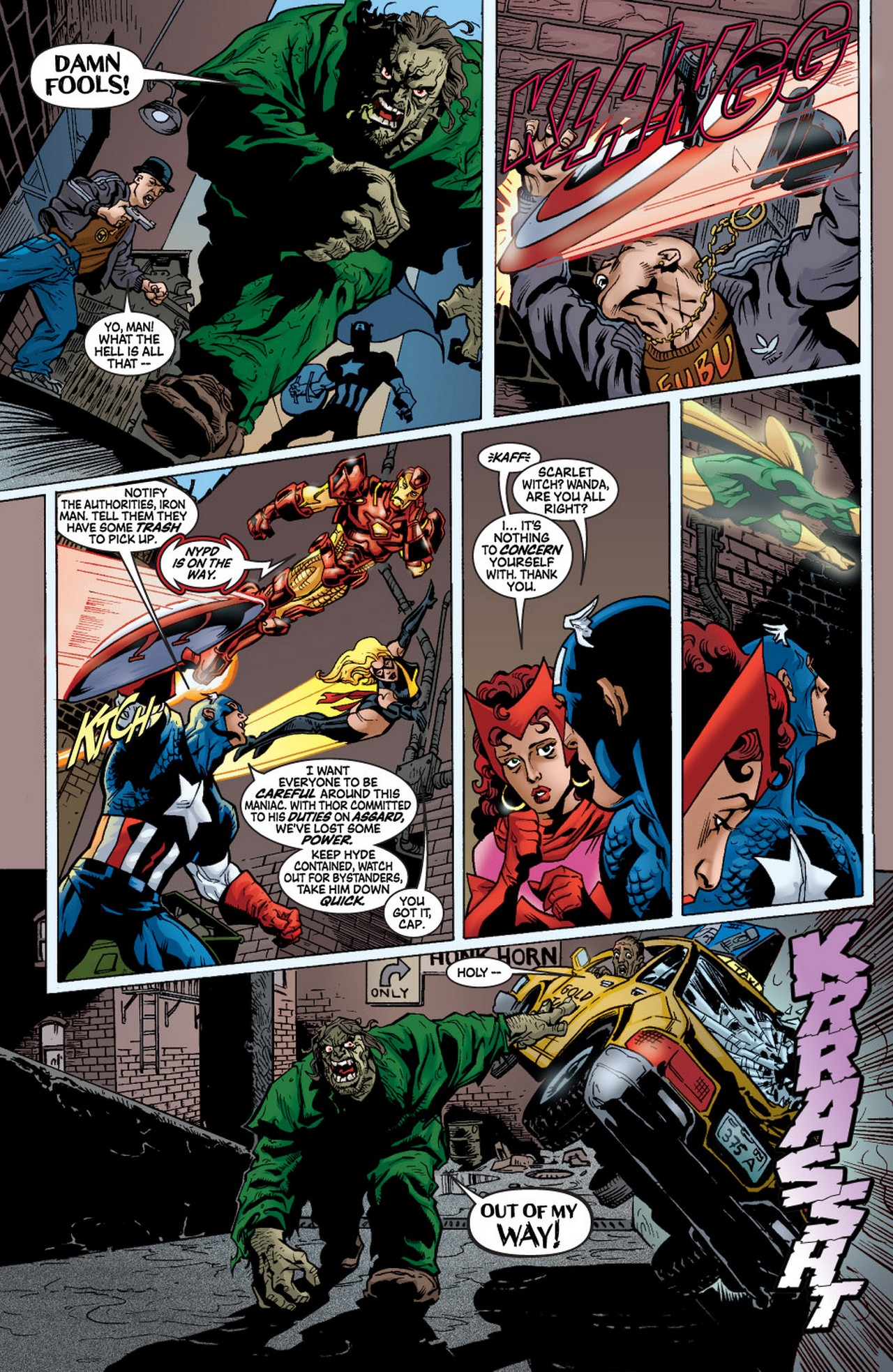 Read online Avengers (1998) comic -  Issue #57 - 12
