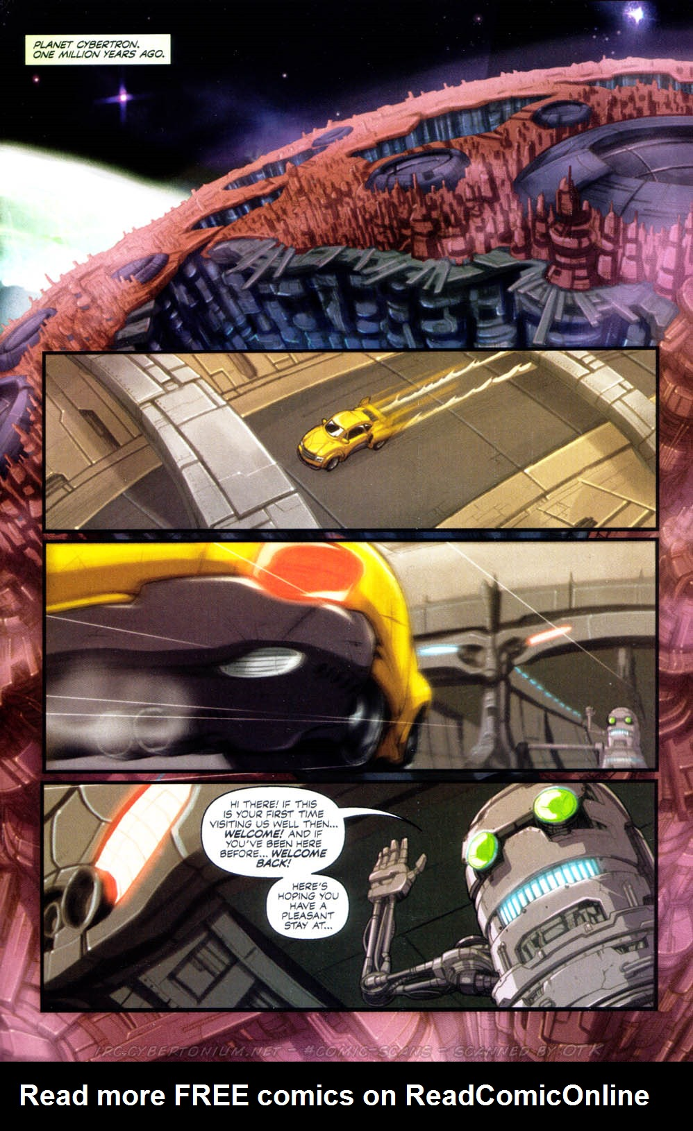 Read online Transformers Armada comic -  Issue #1 - 5