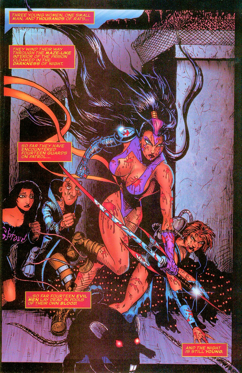Read online Sisters of Mercy comic -  Issue #5 - 3