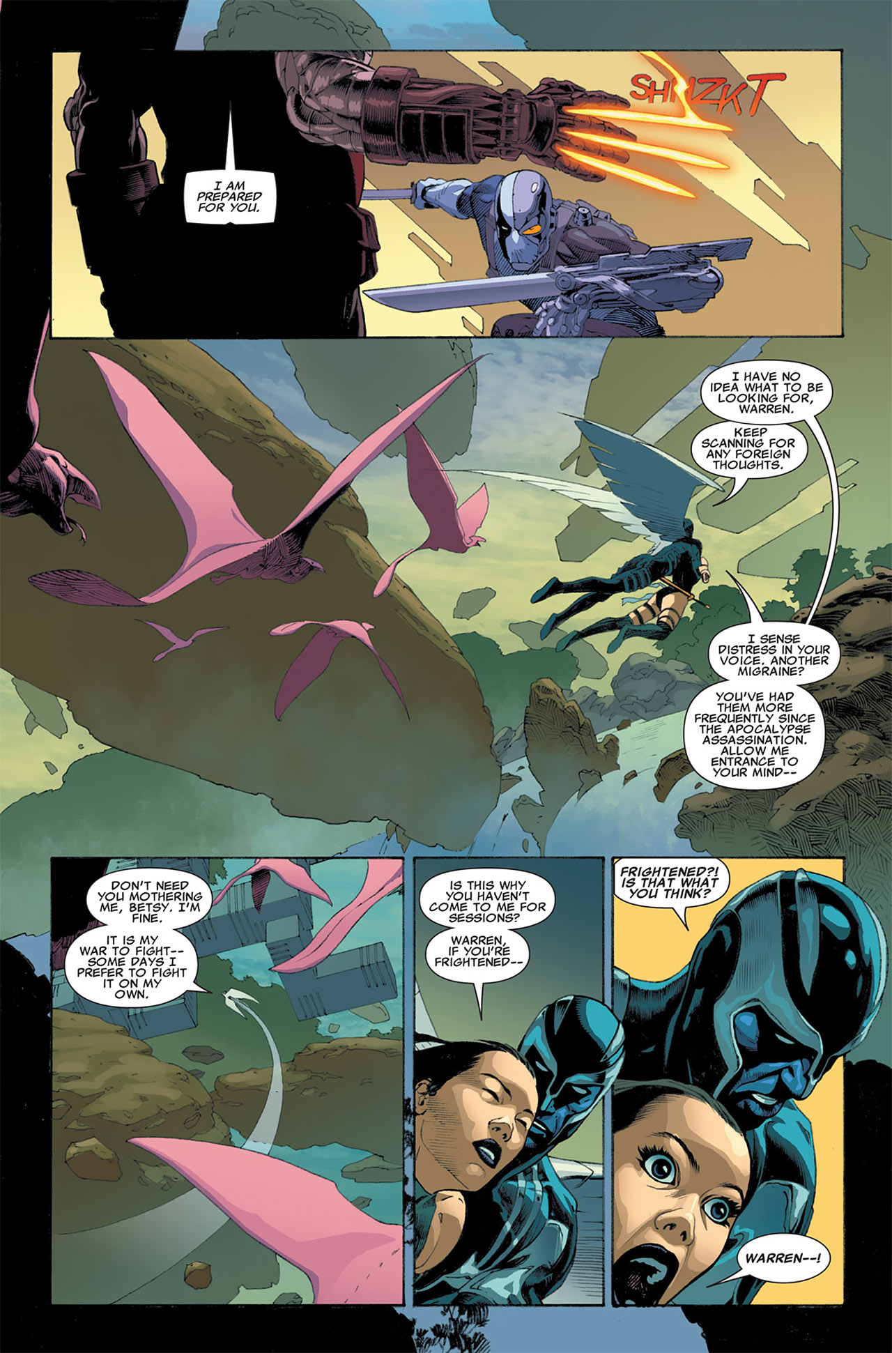 Read online Uncanny X-Force (2010) comic -  Issue #7 - 8