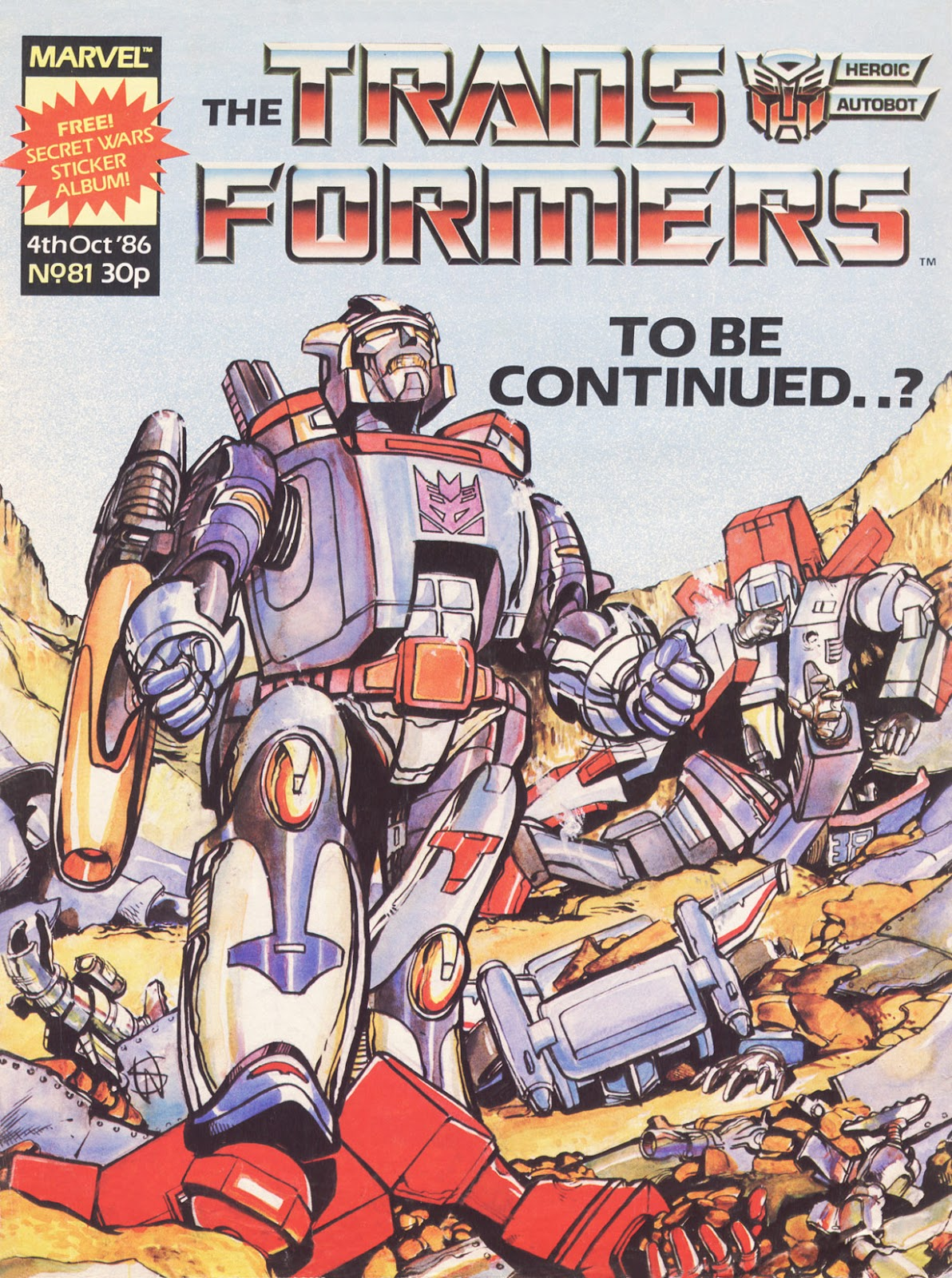 The Transformers (UK) 81 Page 1