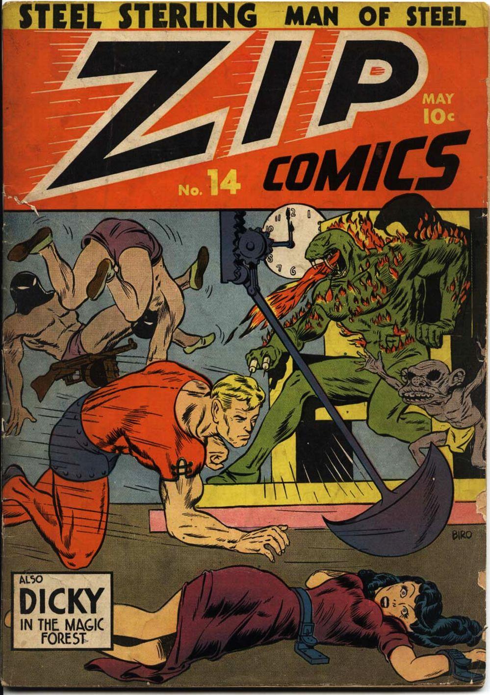 Zip Comics 14 Page 1
