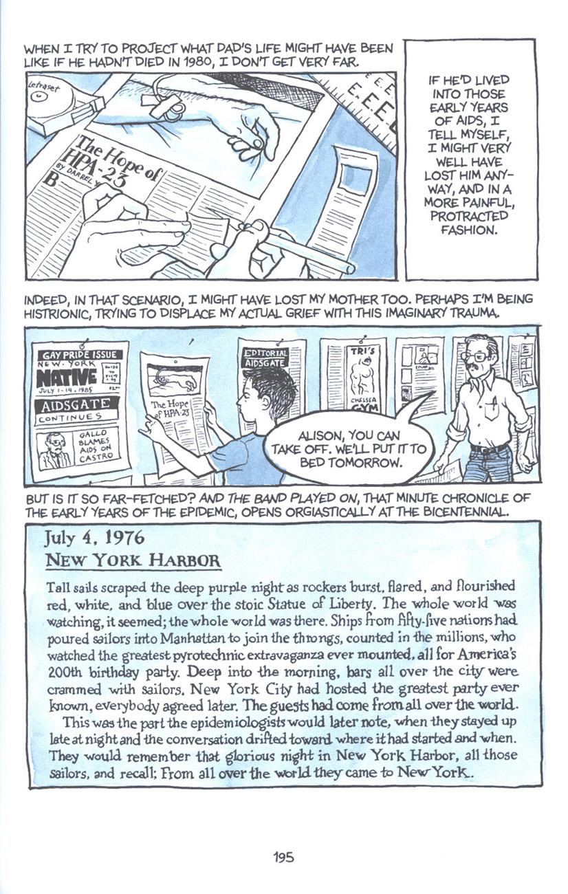 Read online Fun Home: A Family Tragicomic comic -  Issue # TPB - 201