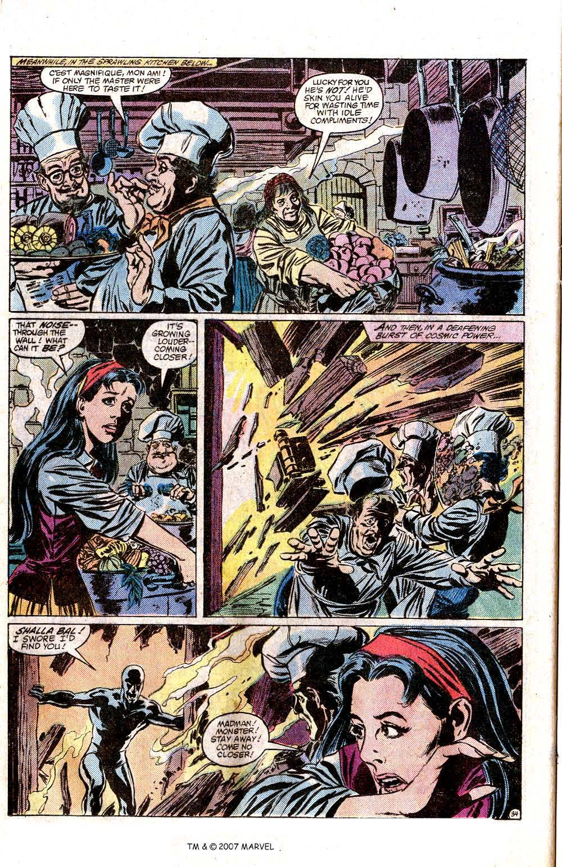 Silver Surfer (1982) Full #1 - English 36