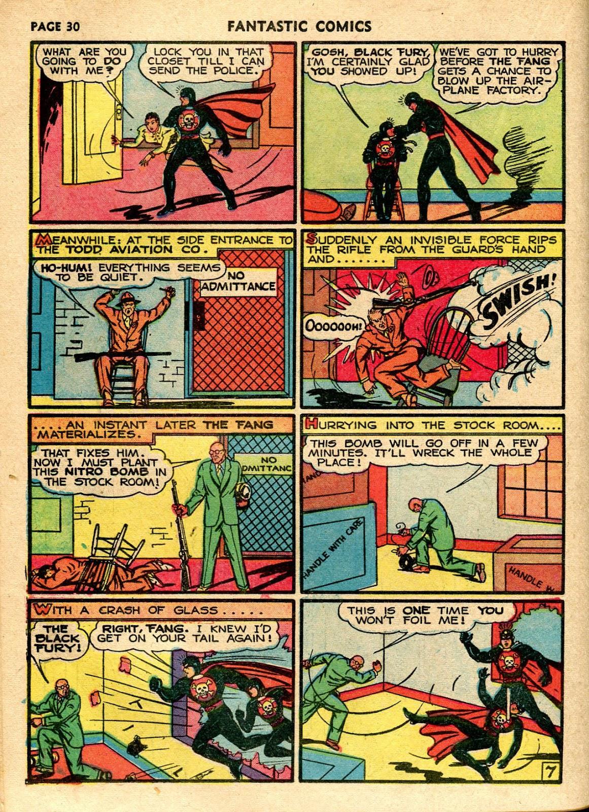 Read online Fantastic Comics comic -  Issue #21 - 32
