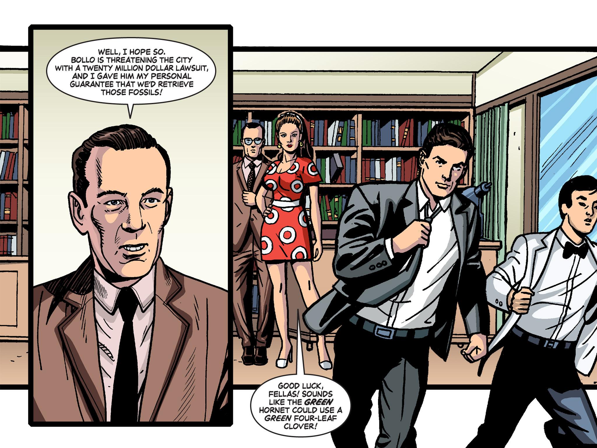 Read online Batman '66 Meets the Green Hornet [II] comic -  Issue #4 - 60
