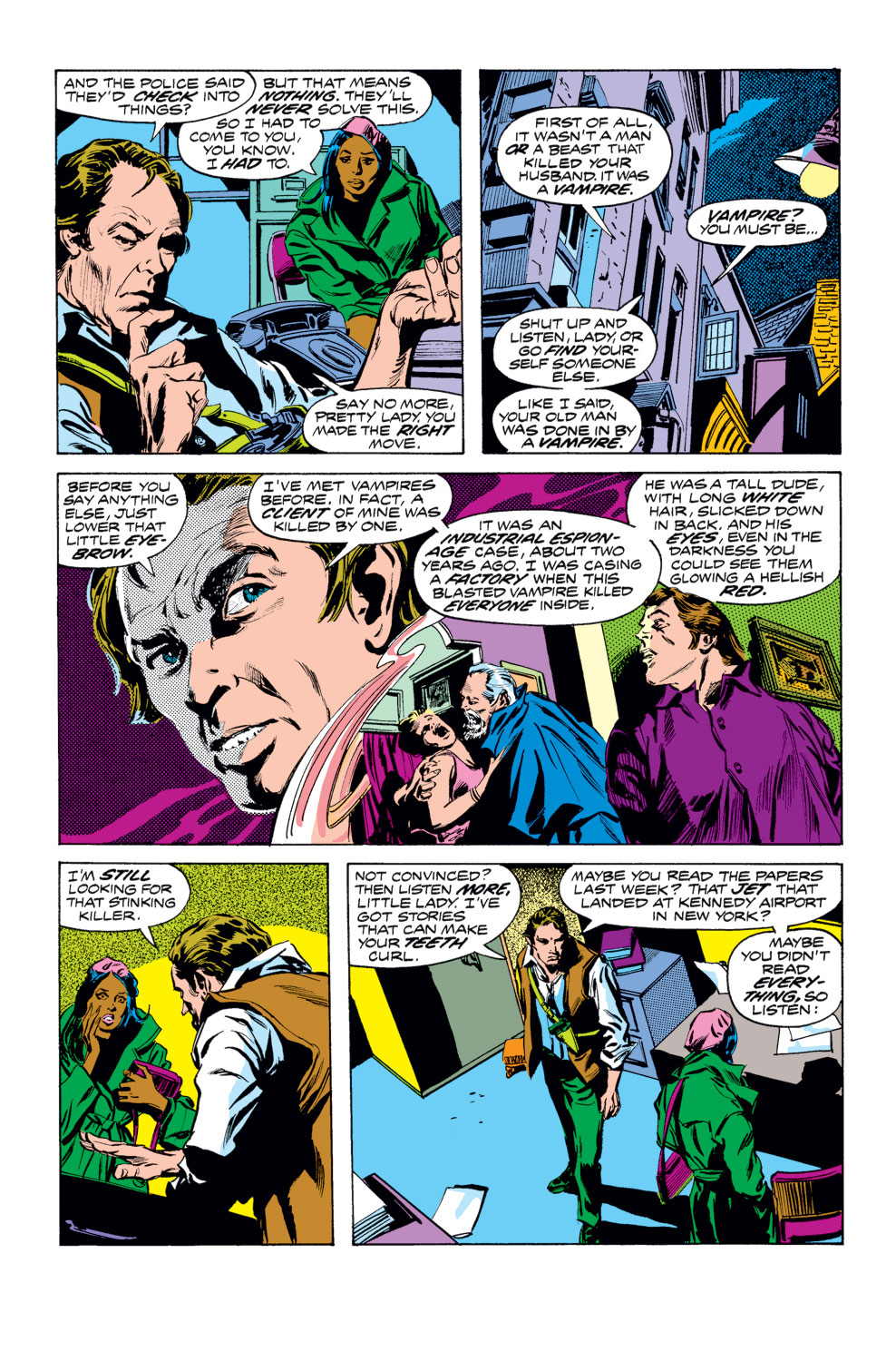 Tomb of Dracula (1972) issue 25 - Page 6