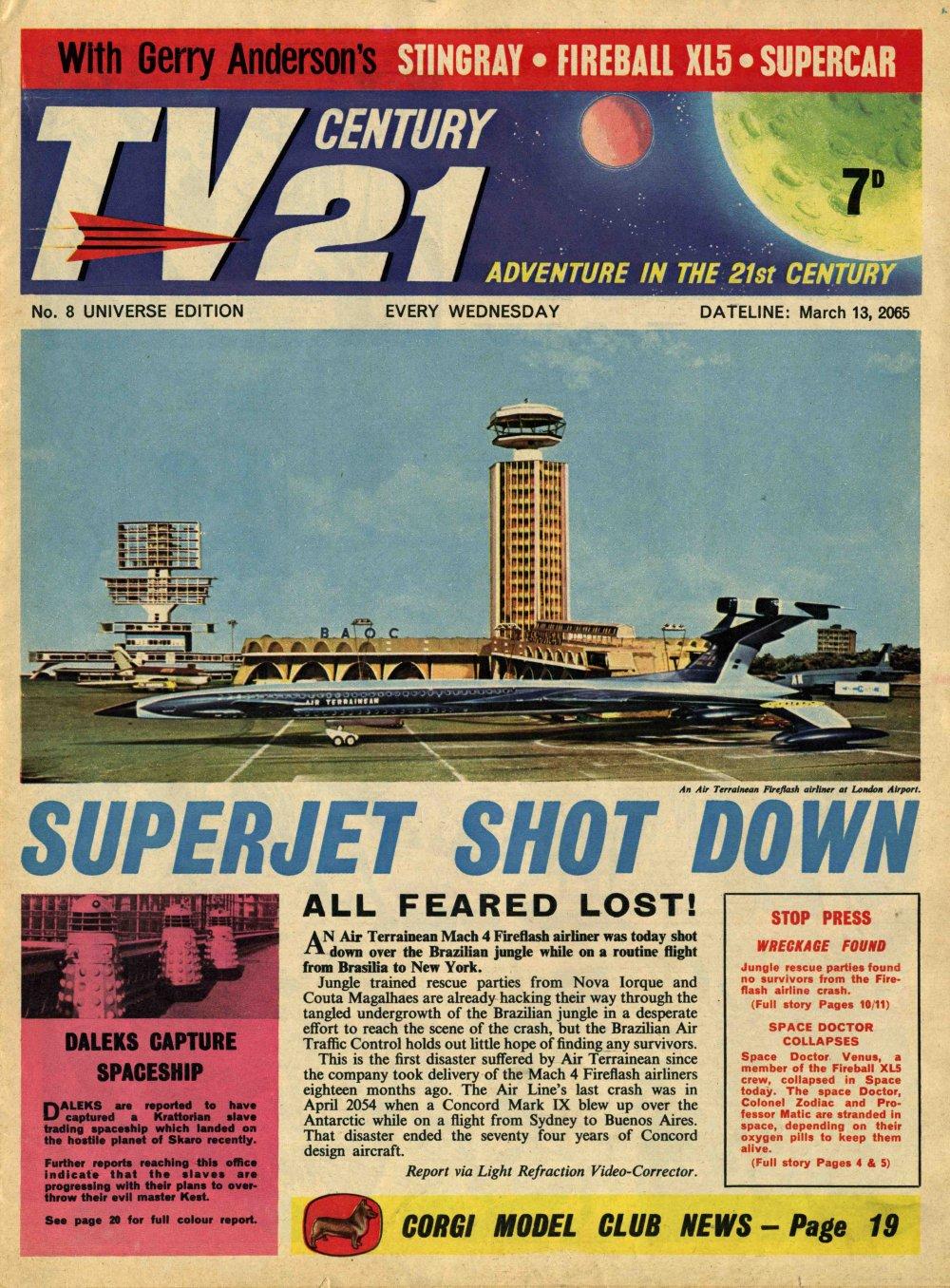 TV Century 21 (TV 21) 8 Page 1