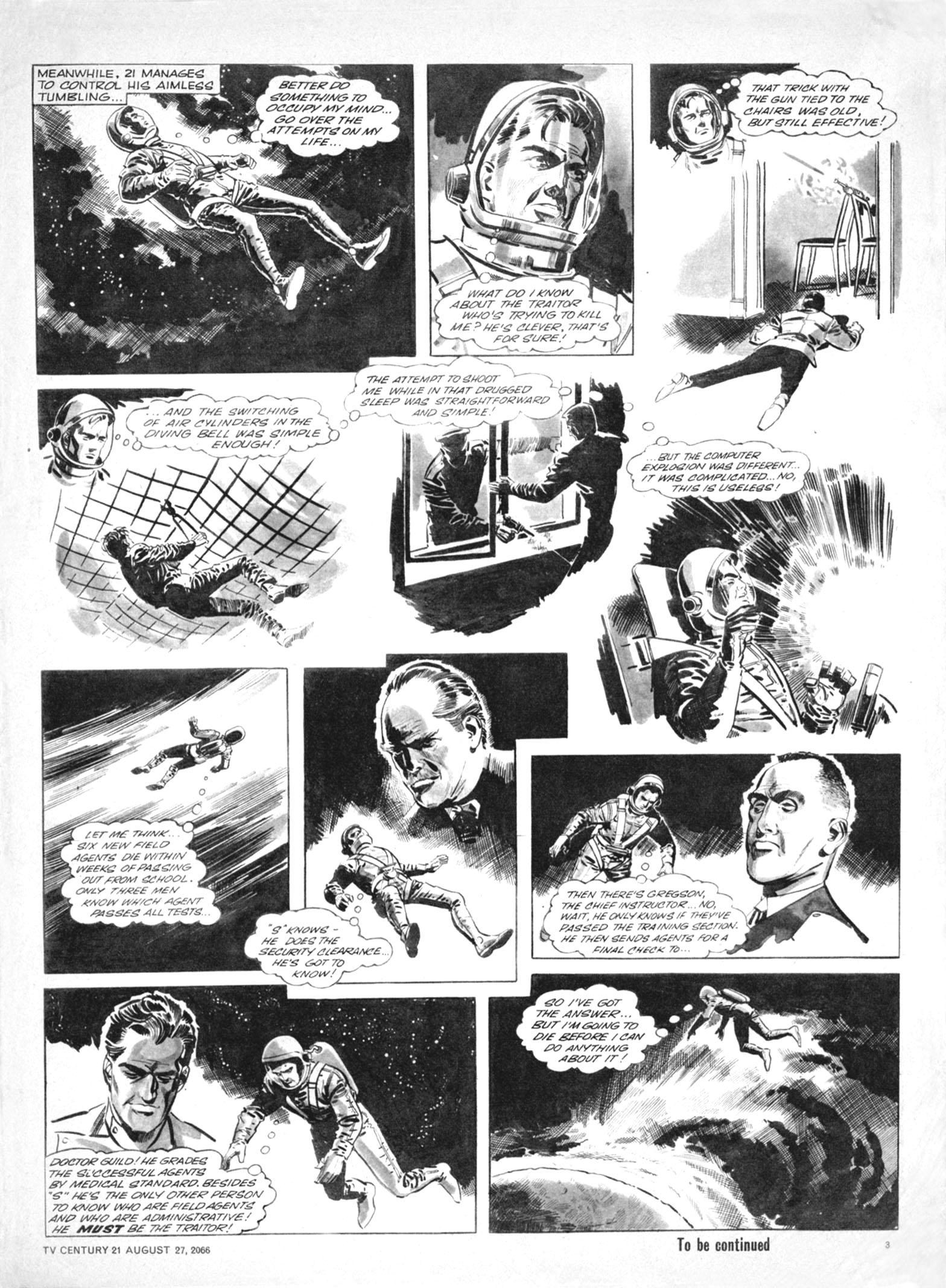 Read online TV Century 21 (TV 21) comic -  Issue #84 - 3
