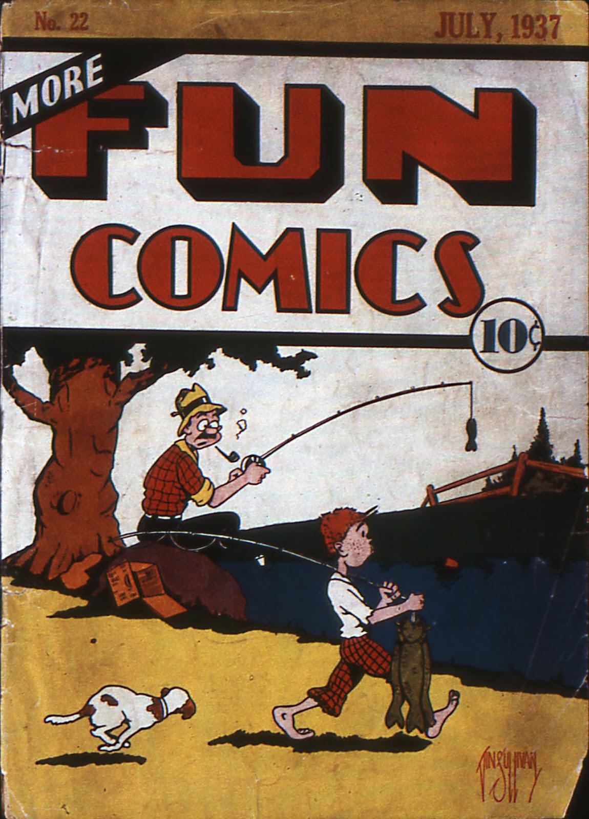 More Fun Comics 22 Page 1