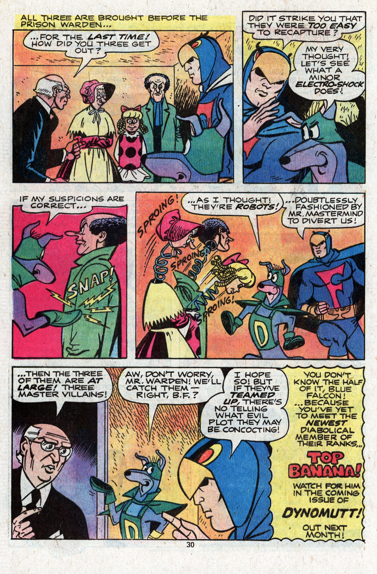 Read online Scooby-Doo (1977) comic -  Issue #4 - 32