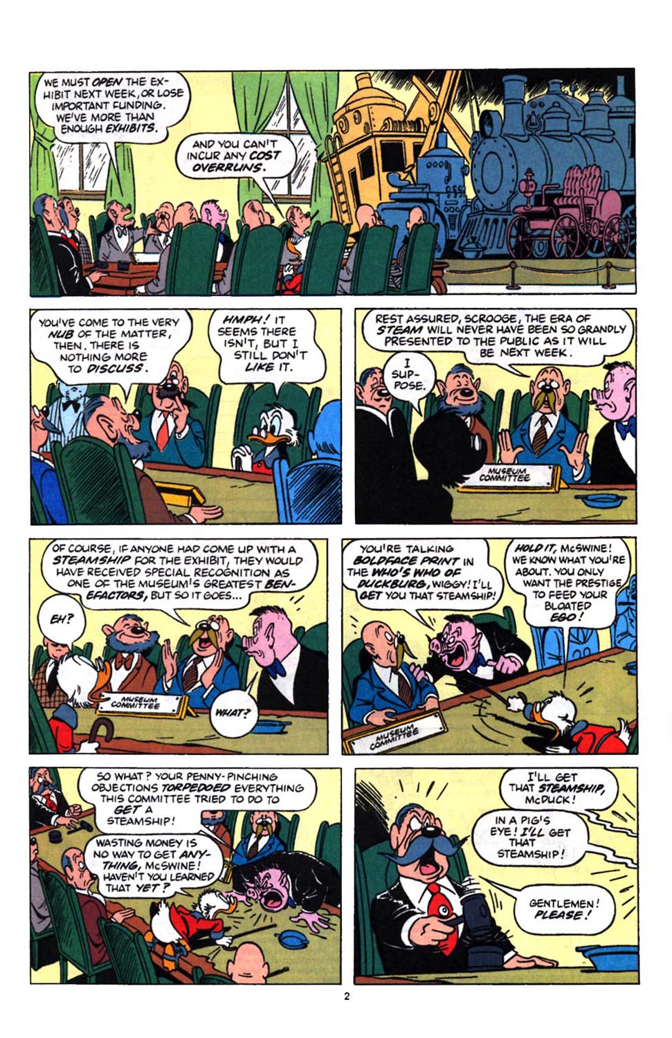 Read online Uncle Scrooge (1953) comic -  Issue #249 - 4