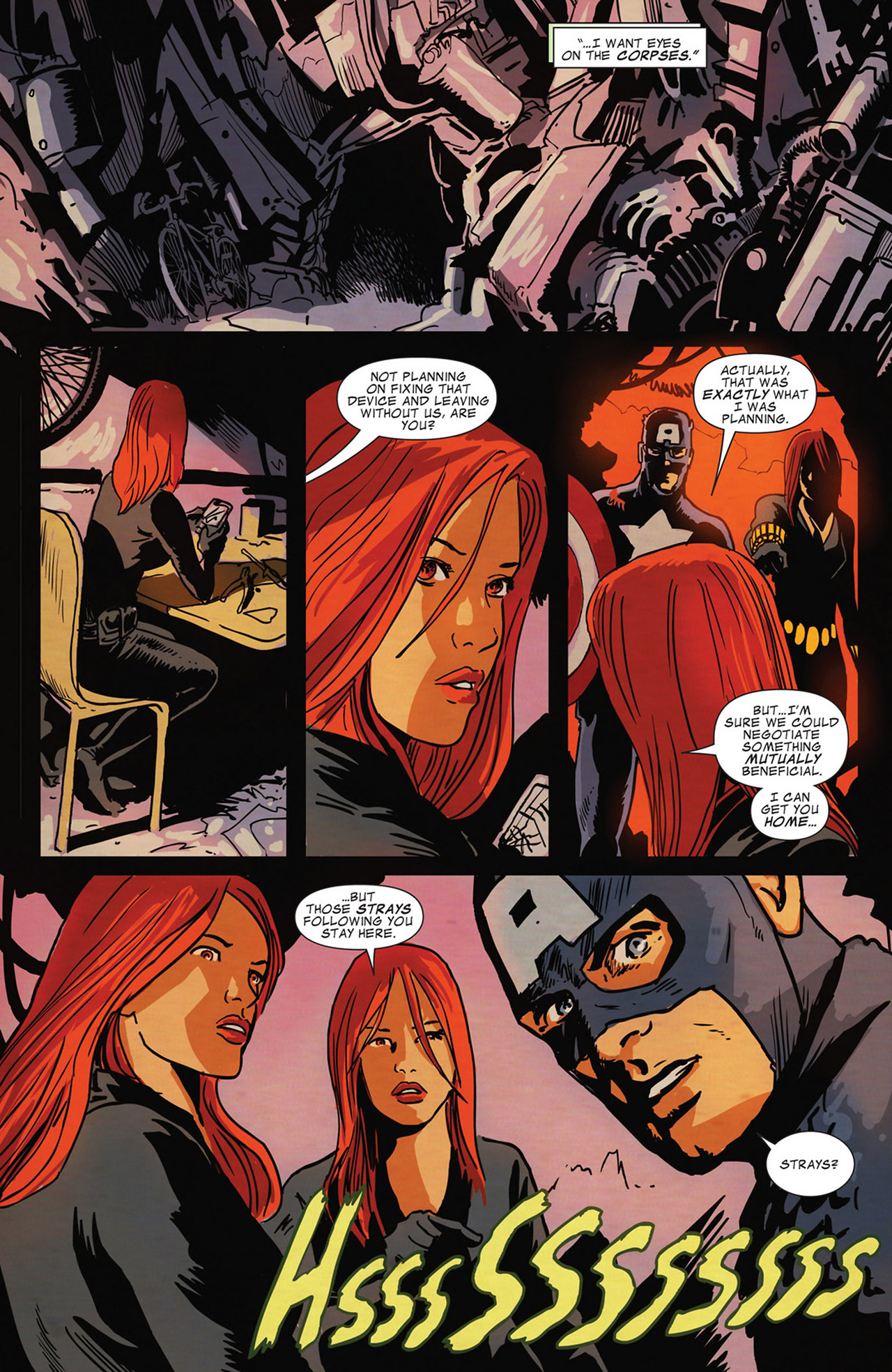 Read online Captain America And Black Widow comic -  Issue #638 - 20