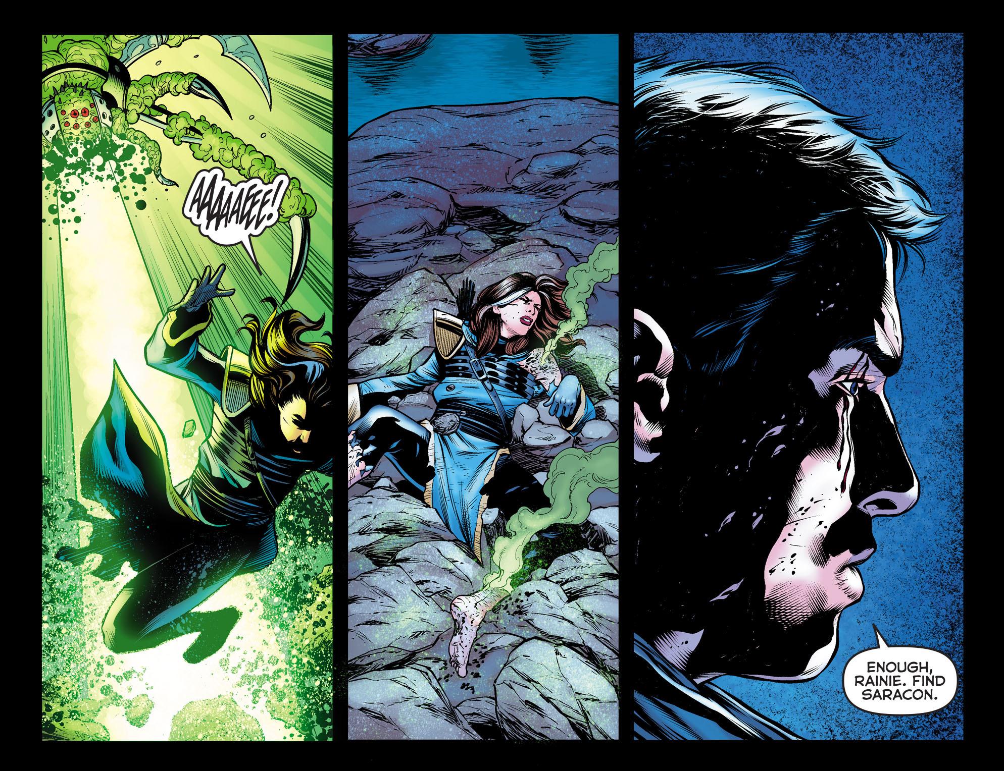Read online Arrow: The Dark Archer comic -  Issue #10 - 14