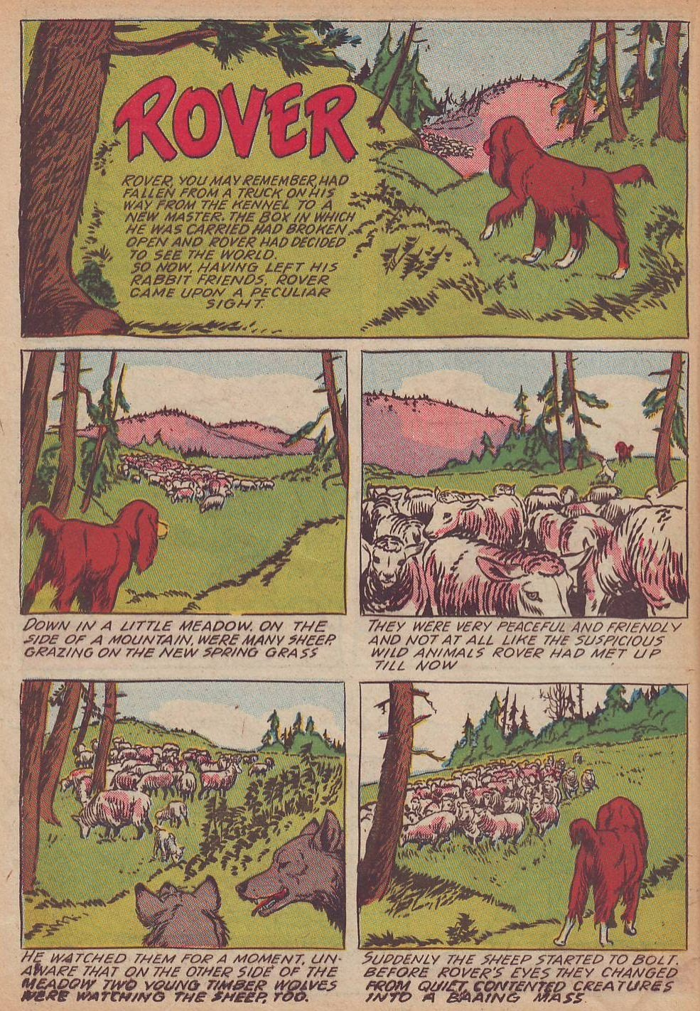 Read online Animal Comics comic -  Issue #21 - 24