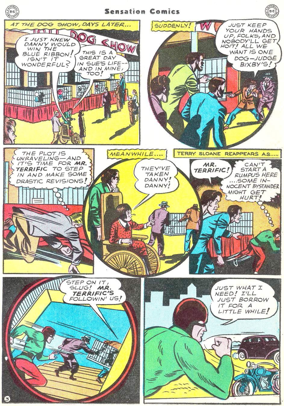 Read online Sensation (Mystery) Comics comic -  Issue #50 - 27