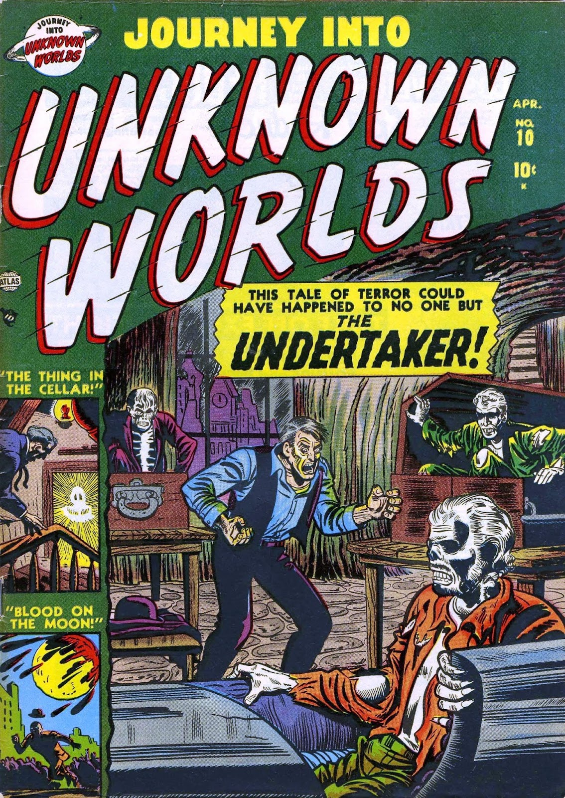Journey Into Unknown Worlds (1950) issue 10 - Page 1