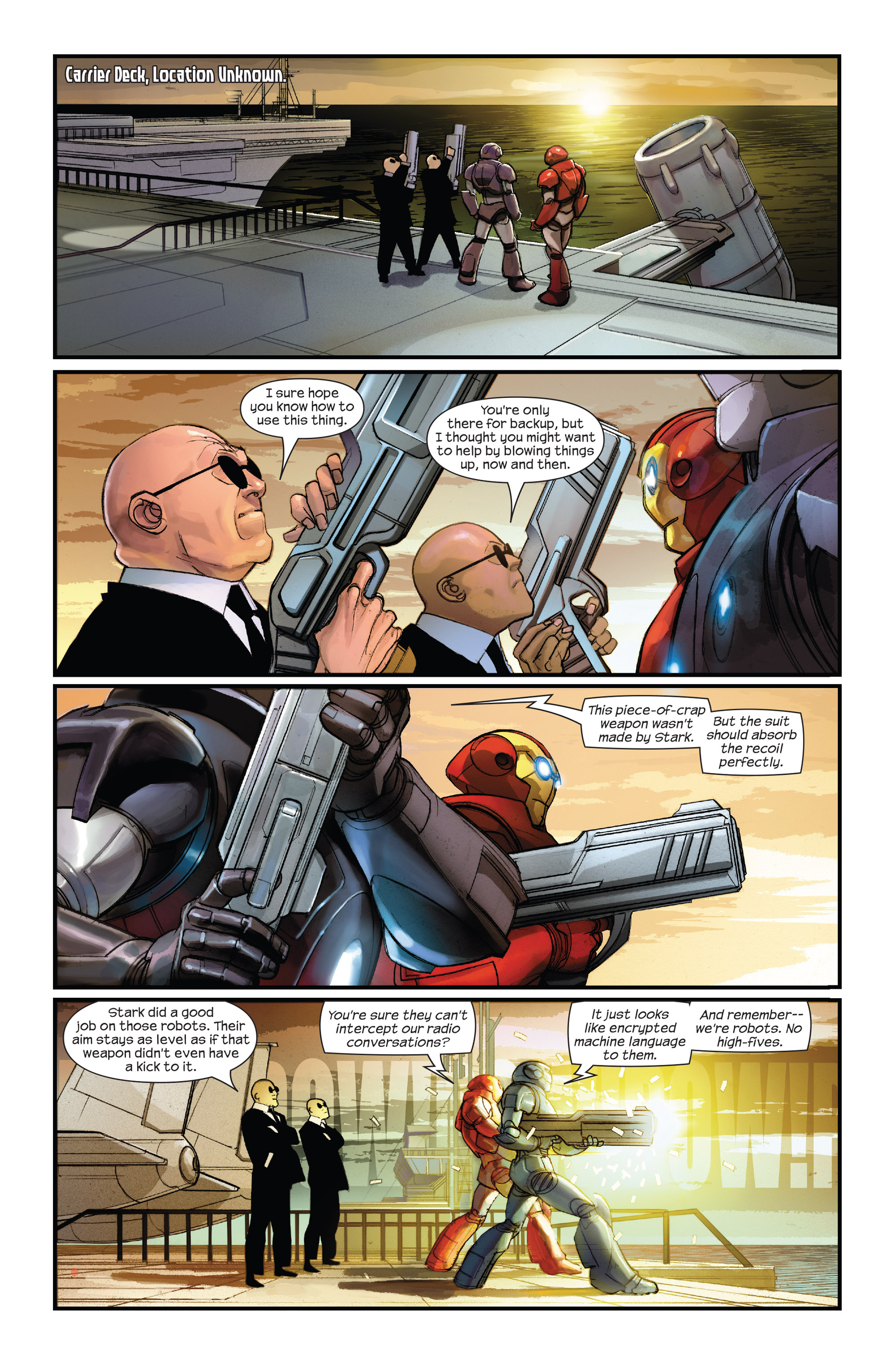 Read online Ultimate Iron Man II comic -  Issue #1 - 18
