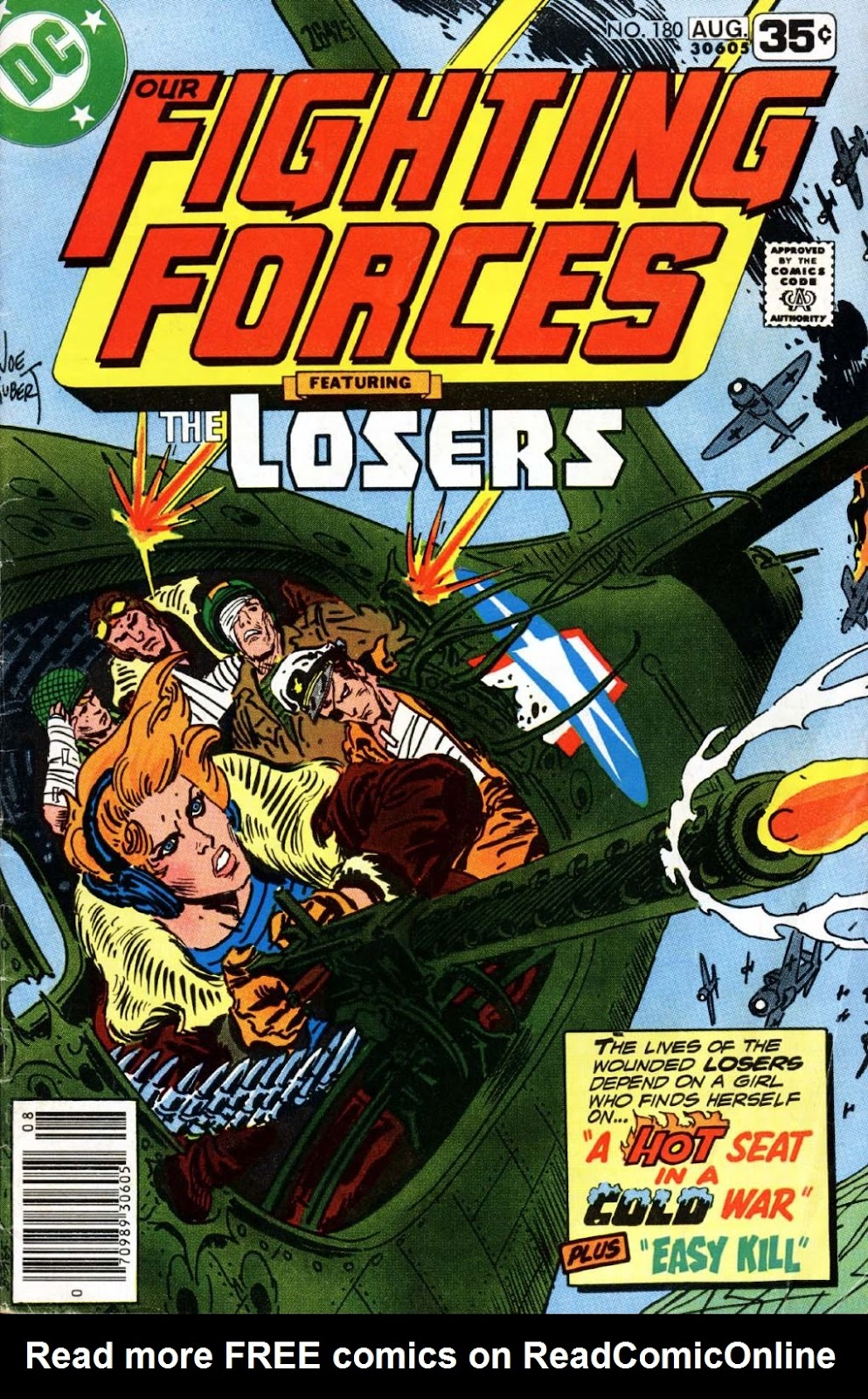 Our Fighting Forces (1954) issue 180 - Page 1