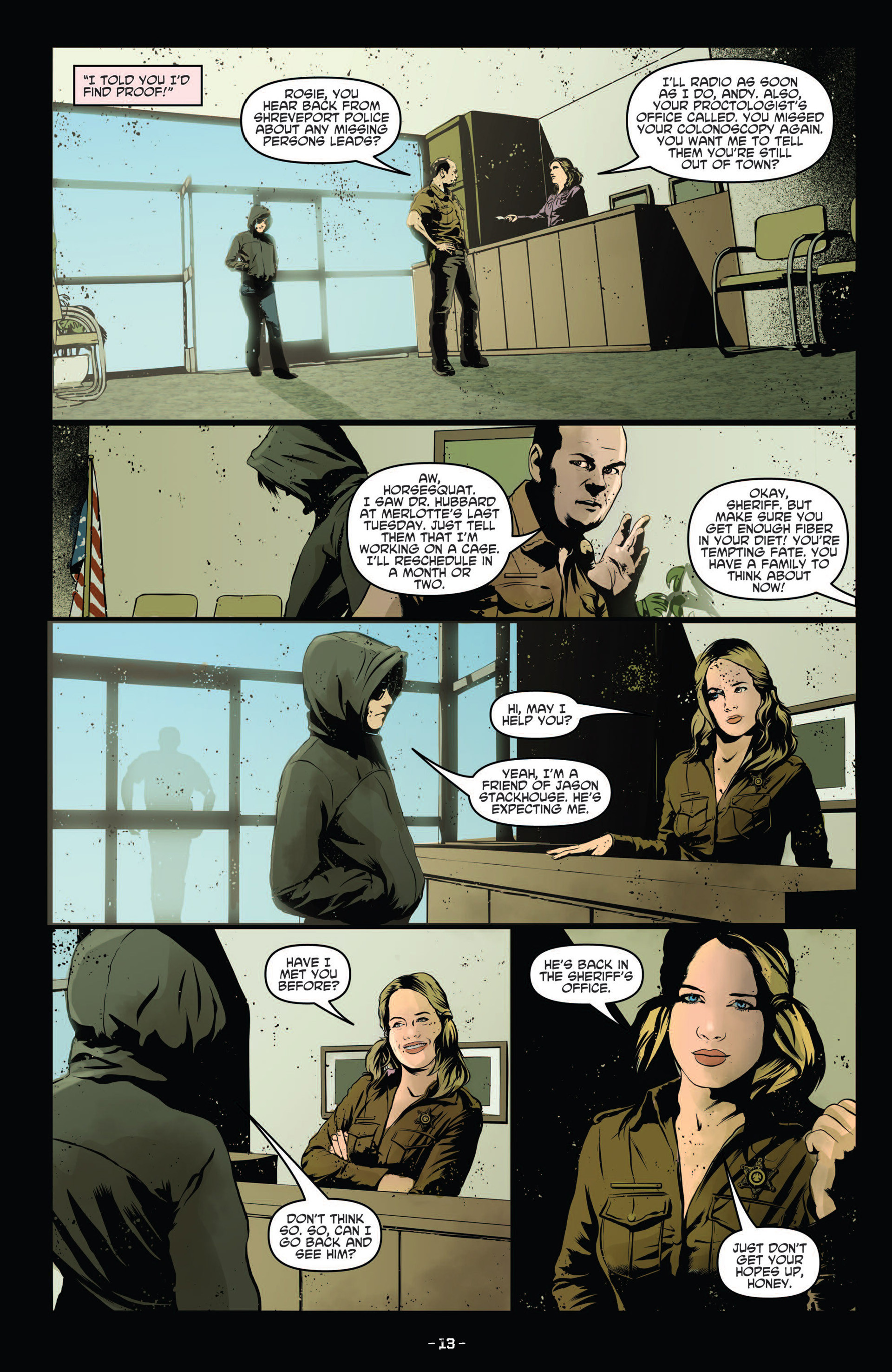 Read online True Blood (2012) comic -  Issue #12 - 15