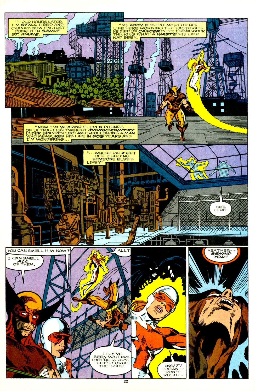 Read online Alpha Flight (1983) comic -  Issue #89 - 18